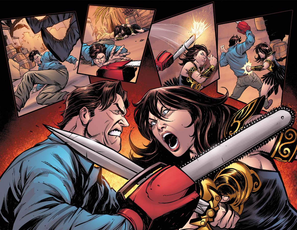 ash-and-xena-team-up-in-army-of-darkness-and-xena-warrior-princess-crossover-comic