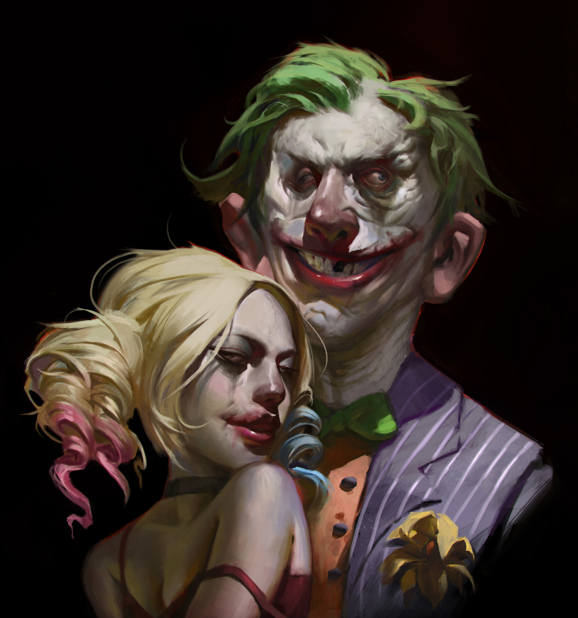 interesting-and-different-take-on-the-joker-and-harley-quinn-in-fan-art2