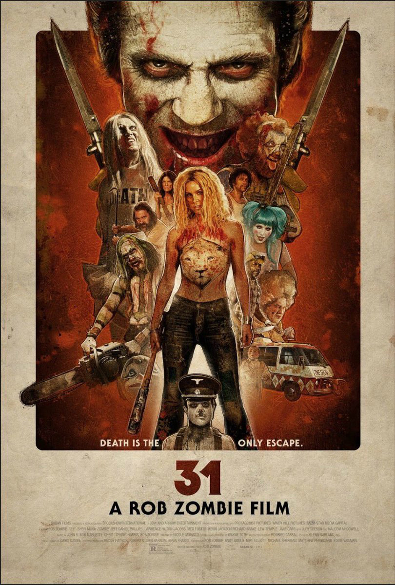 Rob Zombie's Deranged Horror Thriller 31 Gets a New Blood