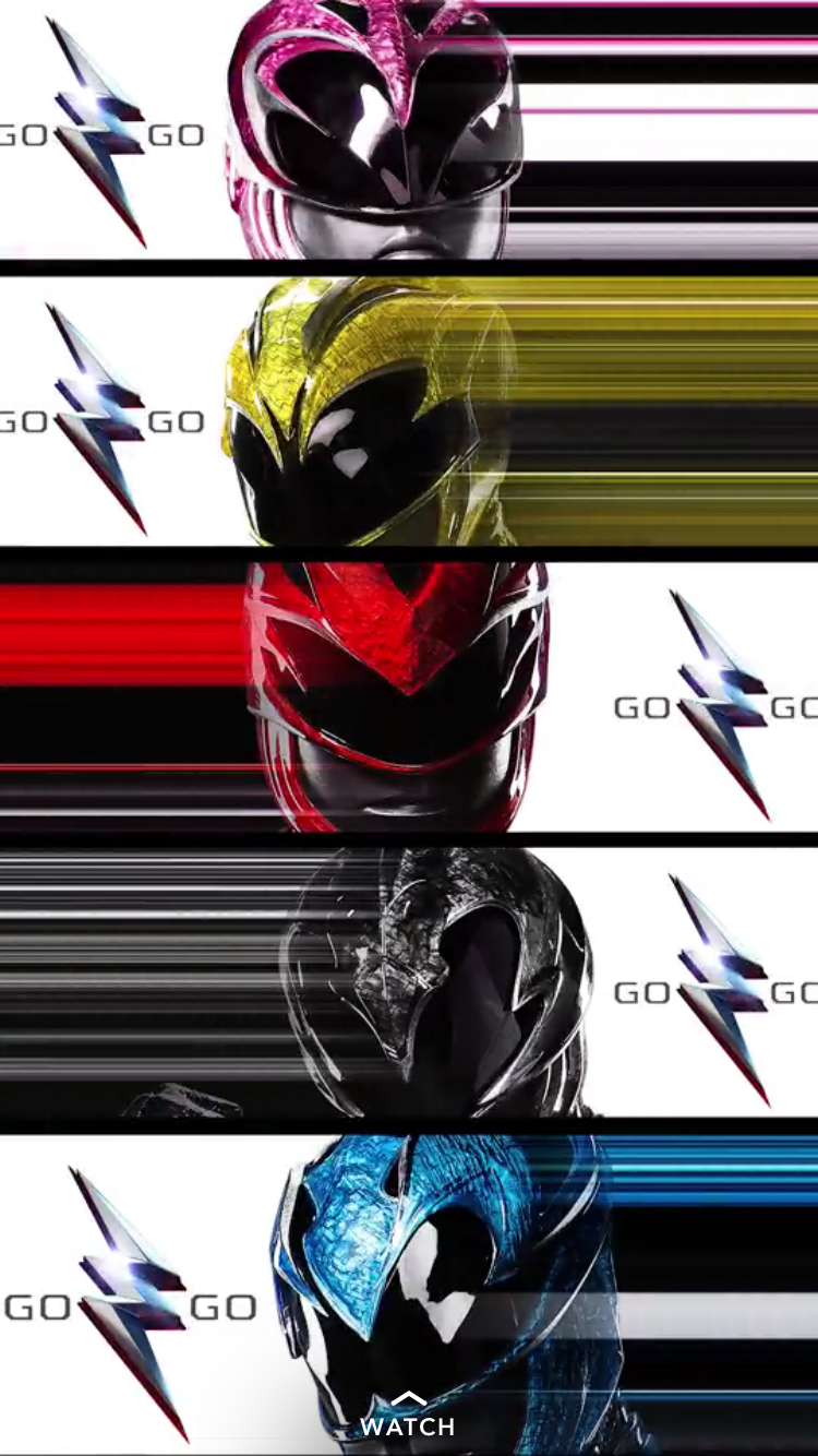 Striking New Series of POWER RANGERS Character Posters1
