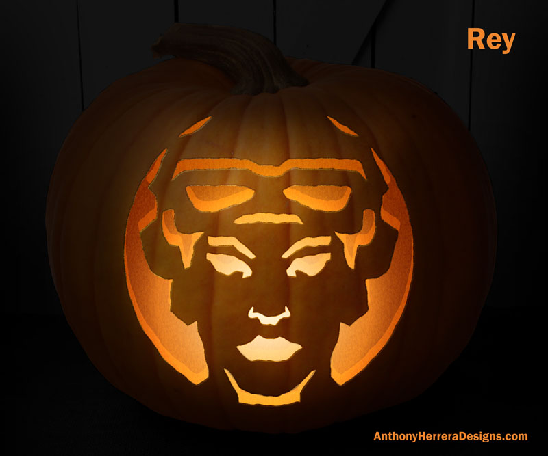 STAR WARS,Themed Pumpkin Carving Templates Will Give You The