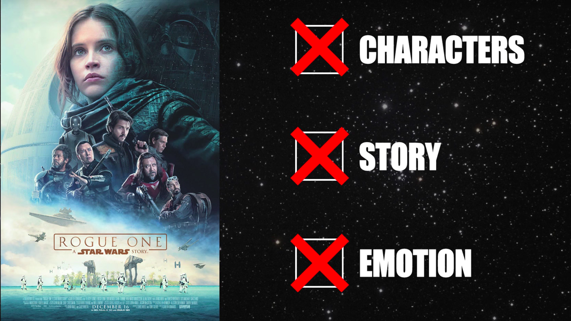 Rian Johnson Red Letter Media.Red Letter Media Disses Rogue One In New Video Review