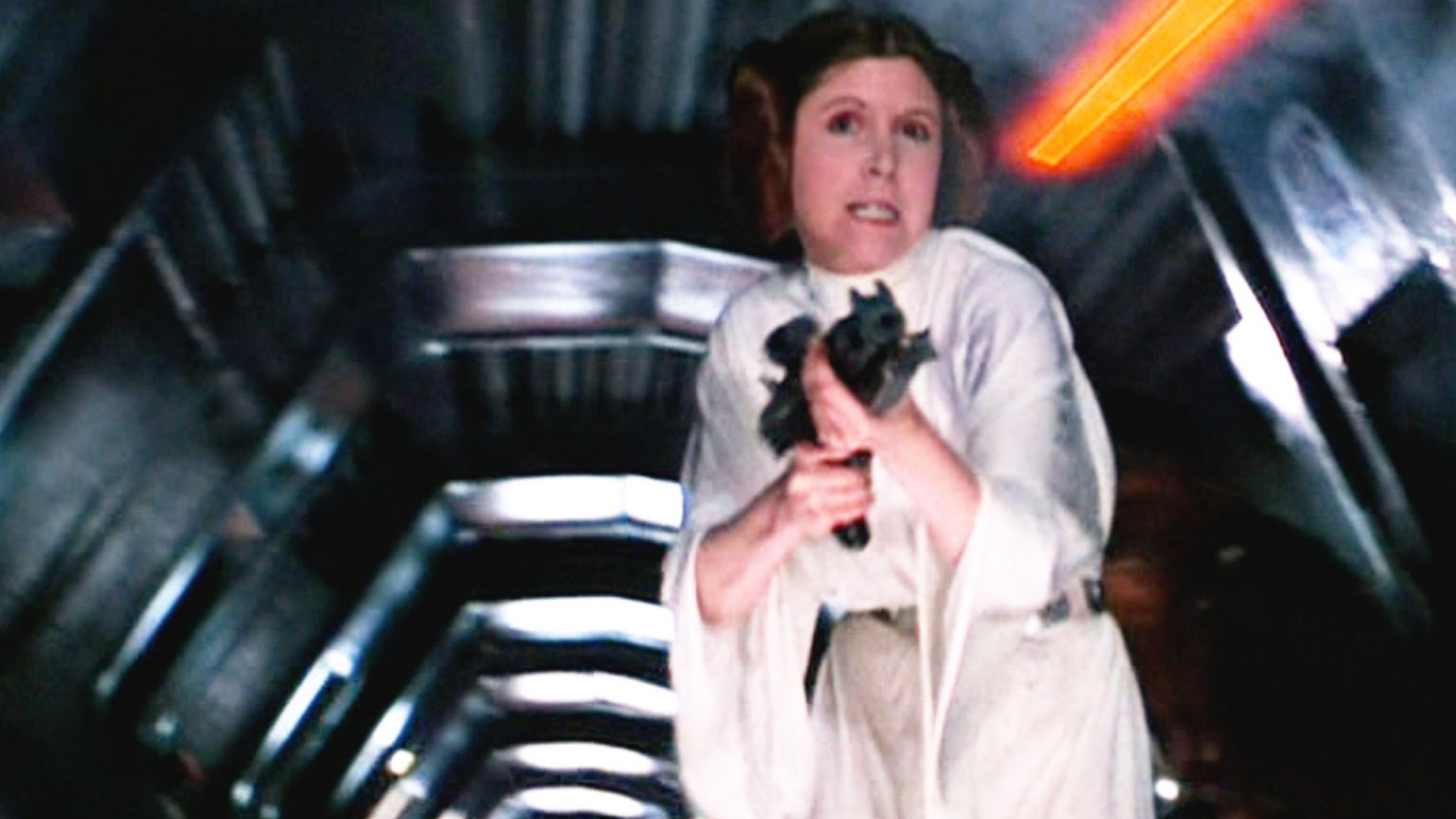 Carrie Fisher On Being Cast In Star Wars And Wanting To Play Han Solo Geektyrant