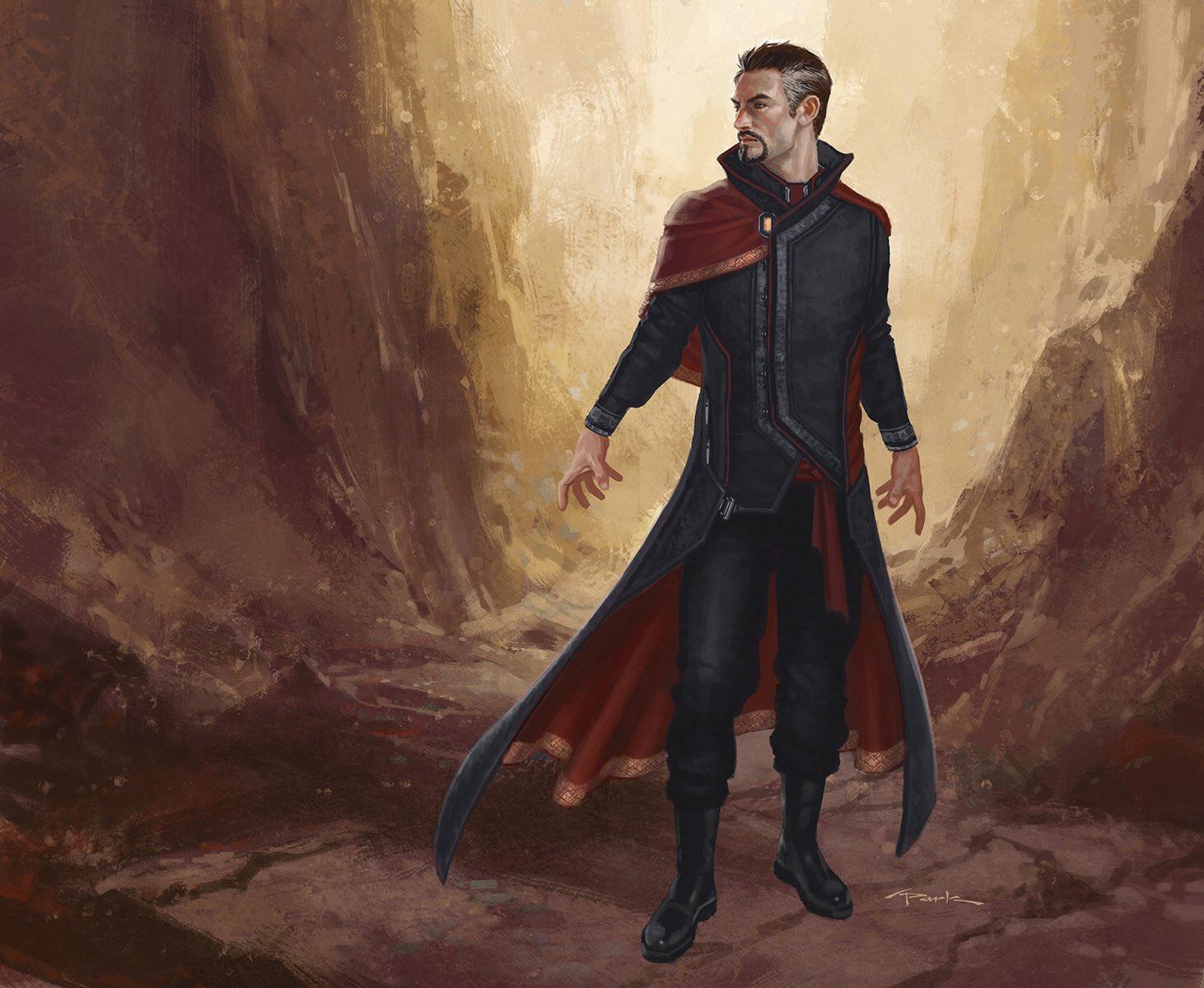 Fan art post of Doctor Strange