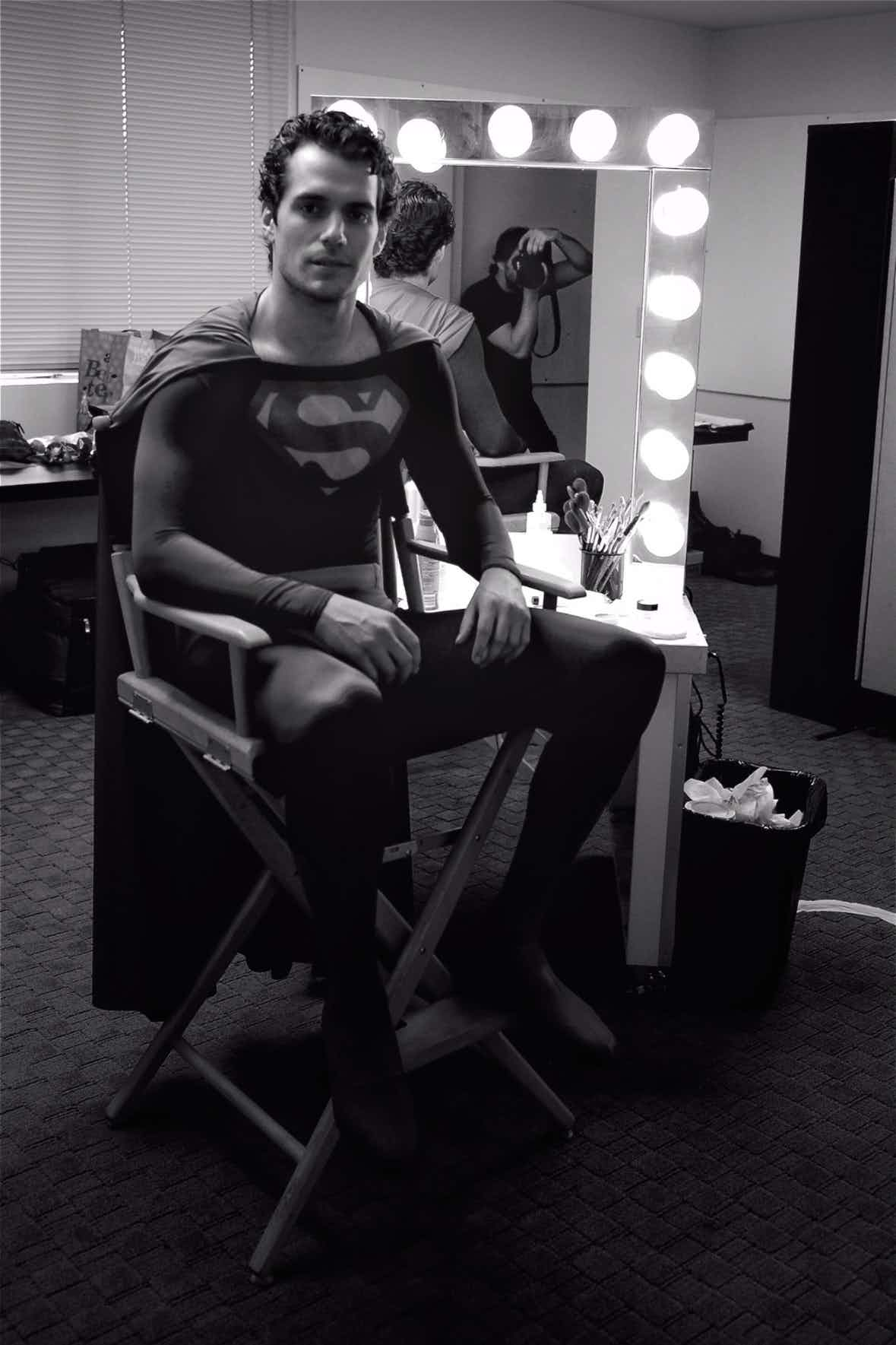 photo-of-henry-cavill-wearing-christopher-reeves-superman-suit-for-his-man-of-steel-audition1