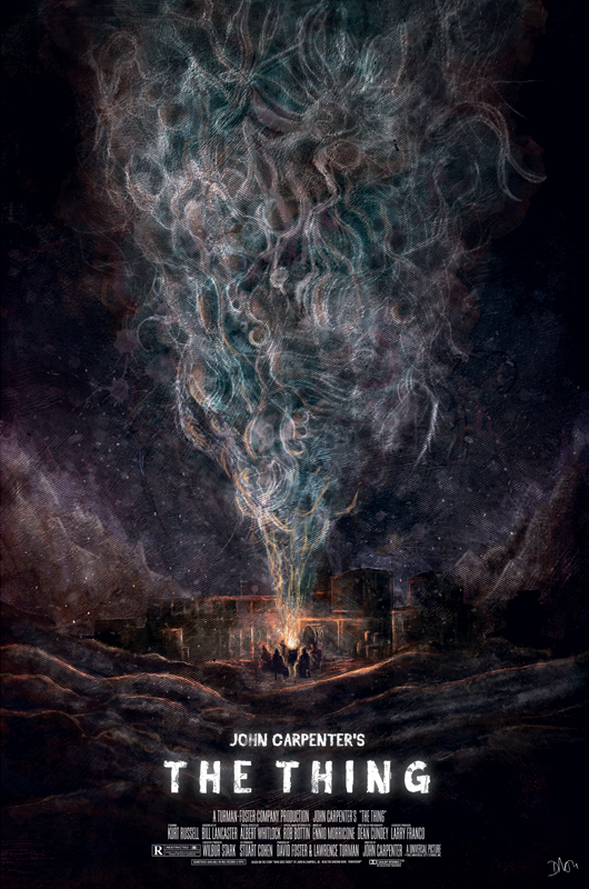 The Thing Mondo Poster