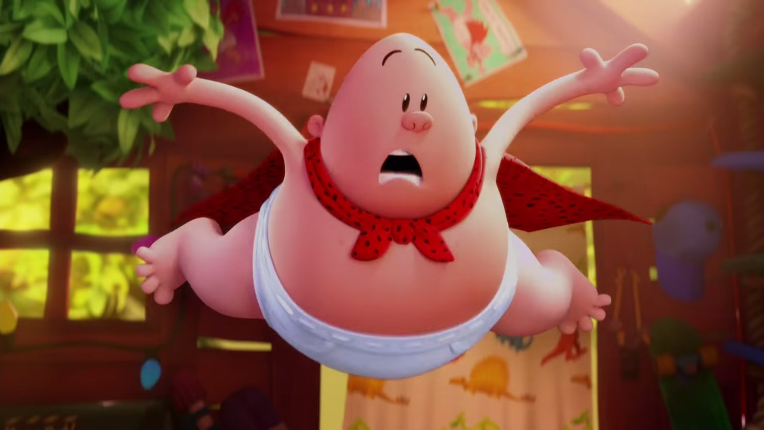 Silly First Trailer For Captain Underpants The First Epic Movie Geektyrant