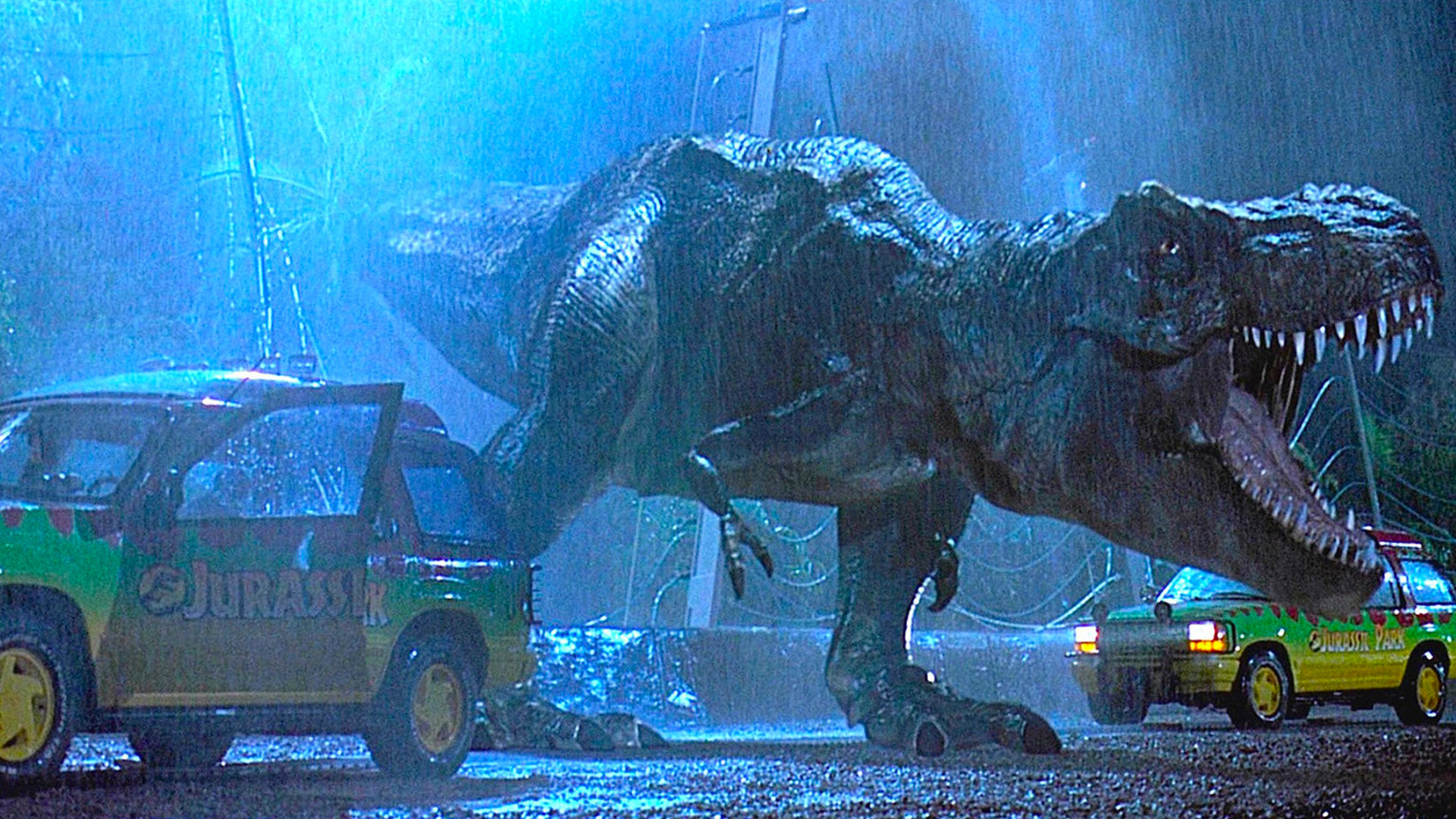 Jurassic Park S T Rex Paddock Attack And Its Impact On Cgi