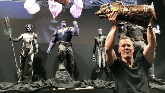 Here's Your First Look at The Children of Thanos in AVENGERS: INFINITY WAR!1
