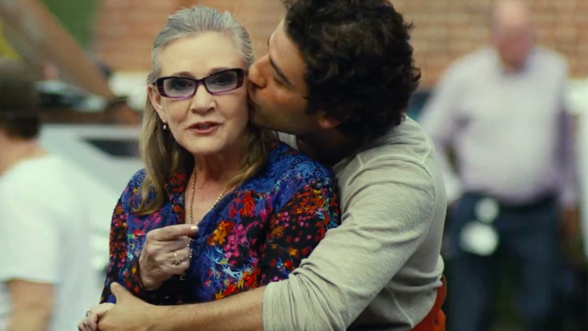 Interesting Details On The Bond Between General Leia And Poe Dameron In Star Wars The Last Jedi Geektyrant
