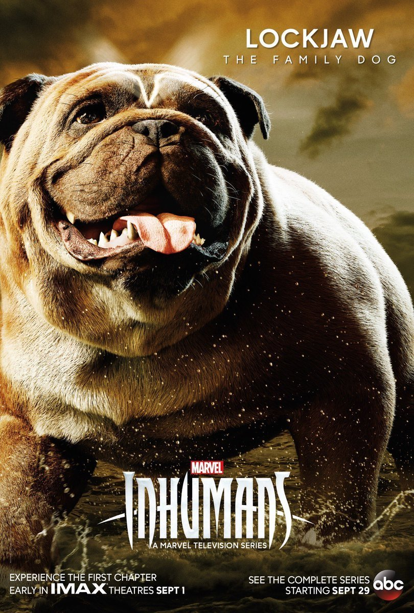 $.jpgLockjaw Gets His Own INHUMANS Poster and There's a New Promo Spot