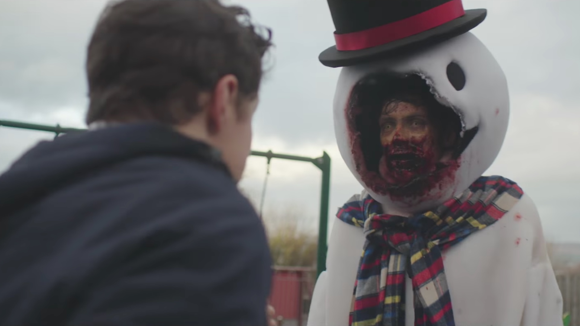 Christmas Zombie Wallpaper.Amusing Trailer For The Zombie Christmas Musical Film Anna