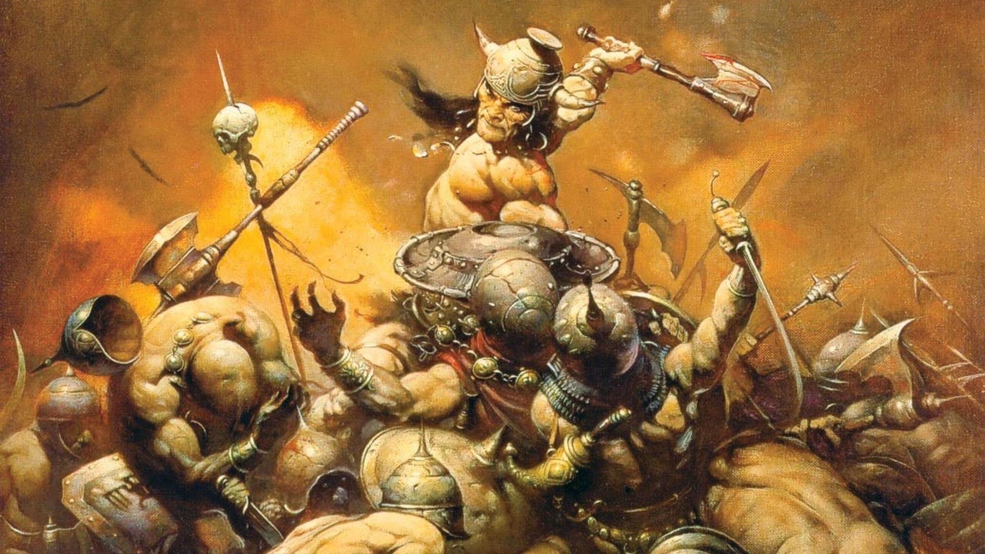 Conan and the Amazon