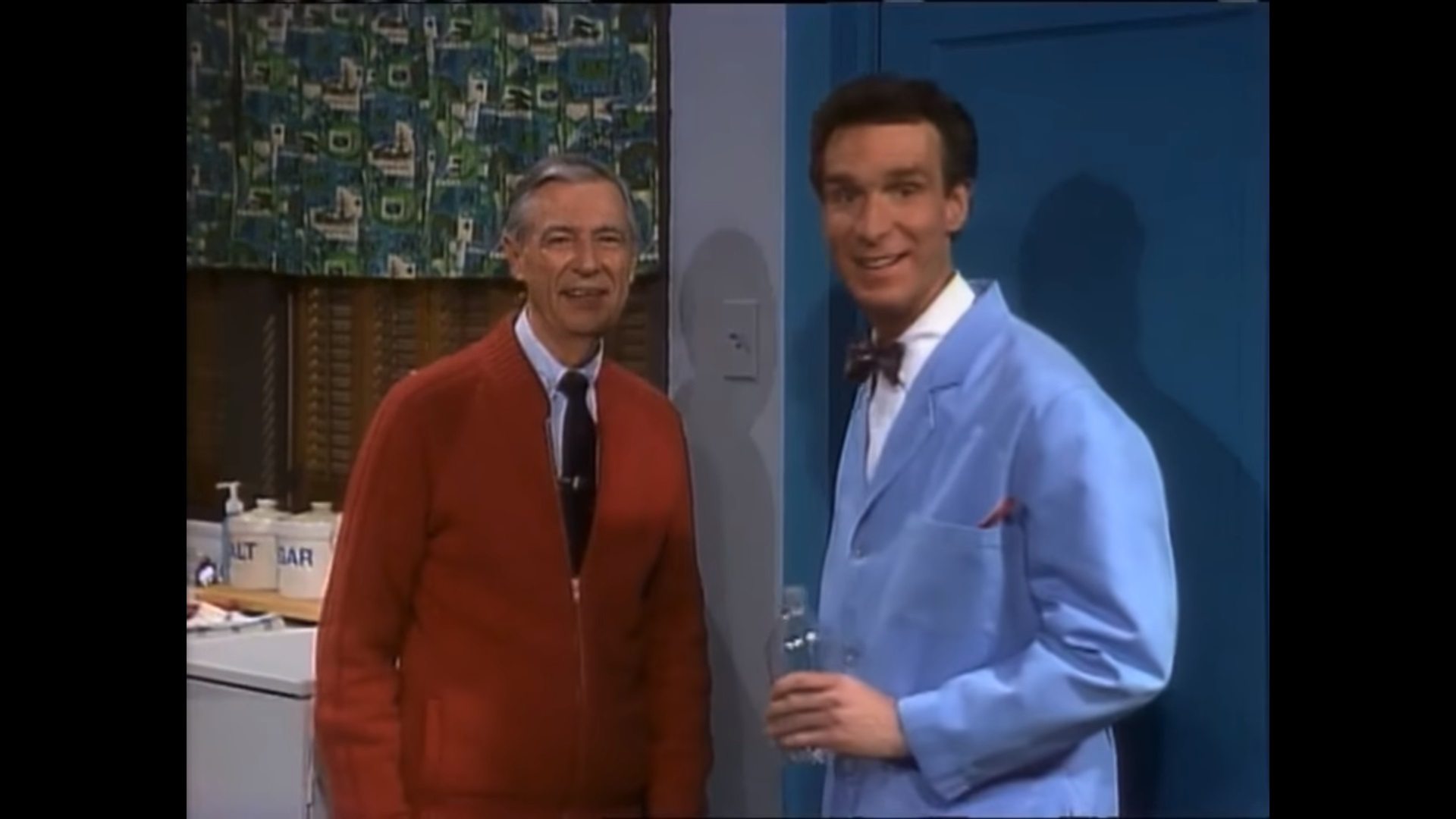 Video Here S The Time Mister Rogers And Bill Nye The Science Guy Had A Crossover Episode Geektyrant