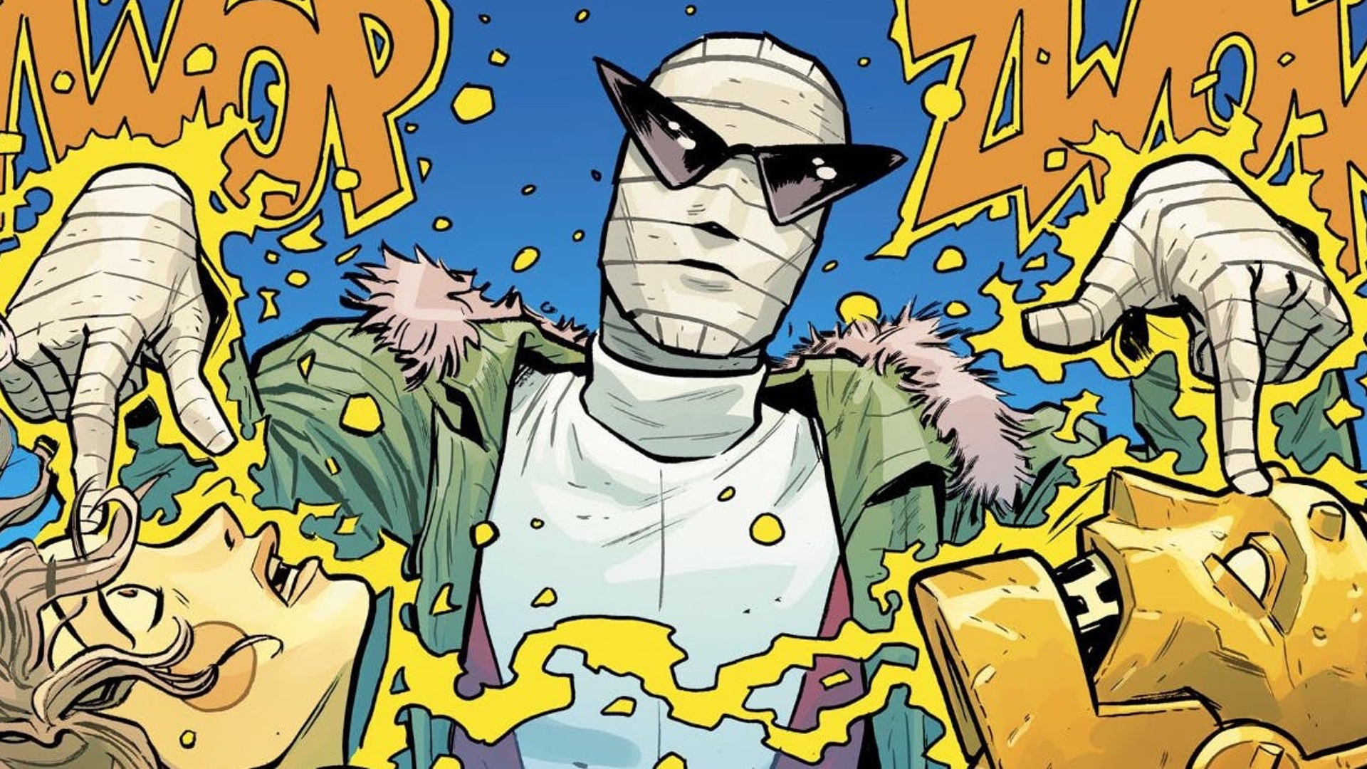 Titans Adds Negative Man To Doom Patrol Geektyrant