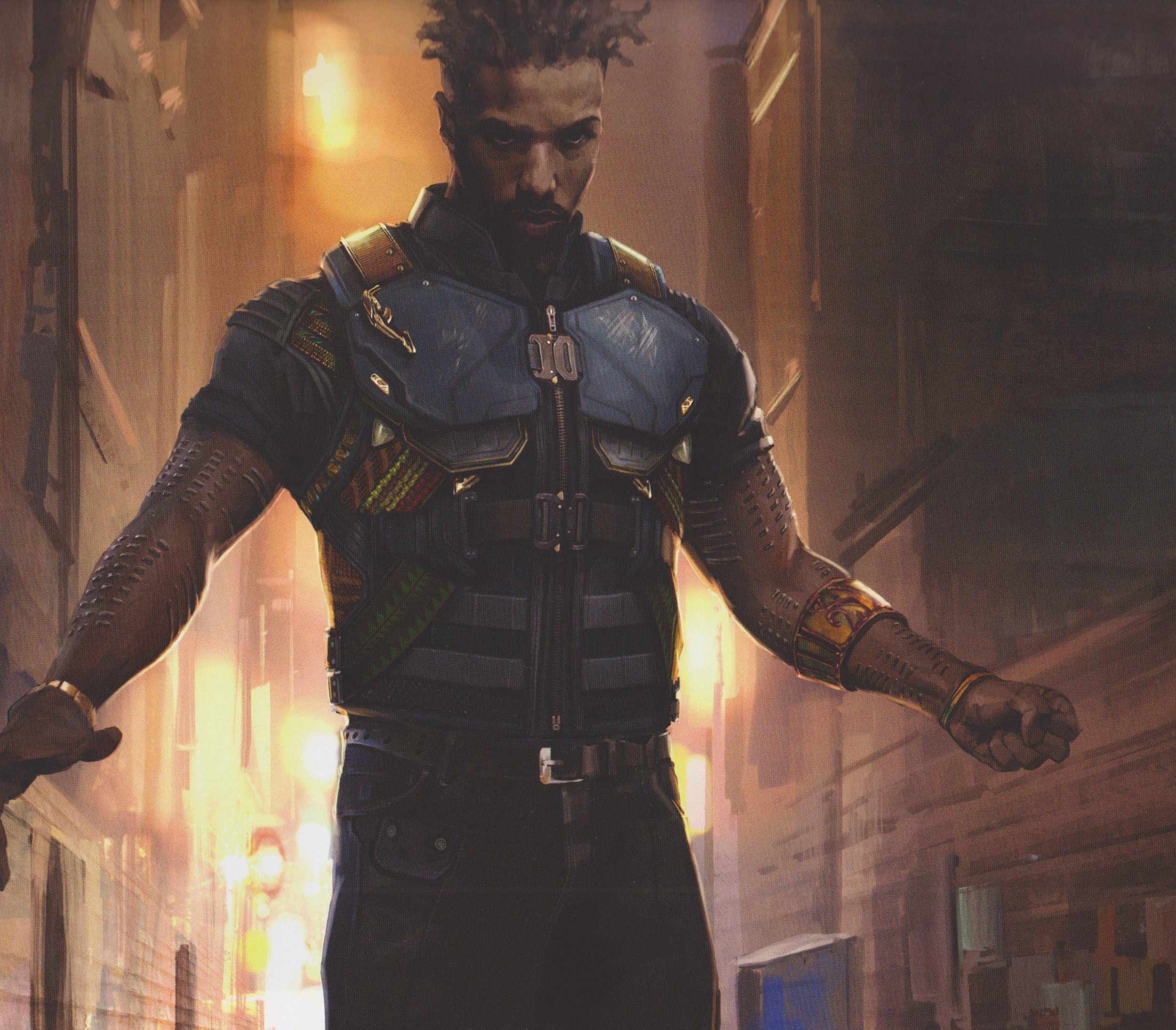 Black Panther Concept Art Shows Early Designs For Killmonger