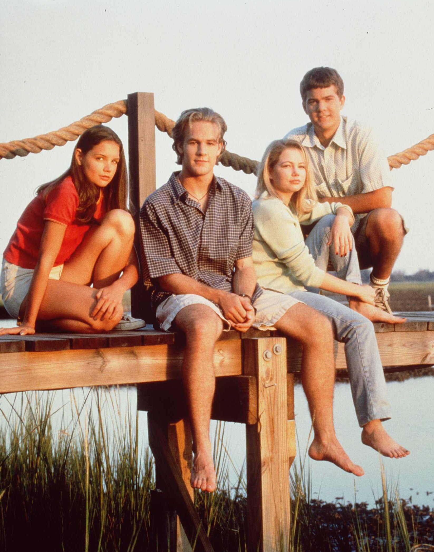 For The First Time In 15 Years The Cast Of Dawsons Creek