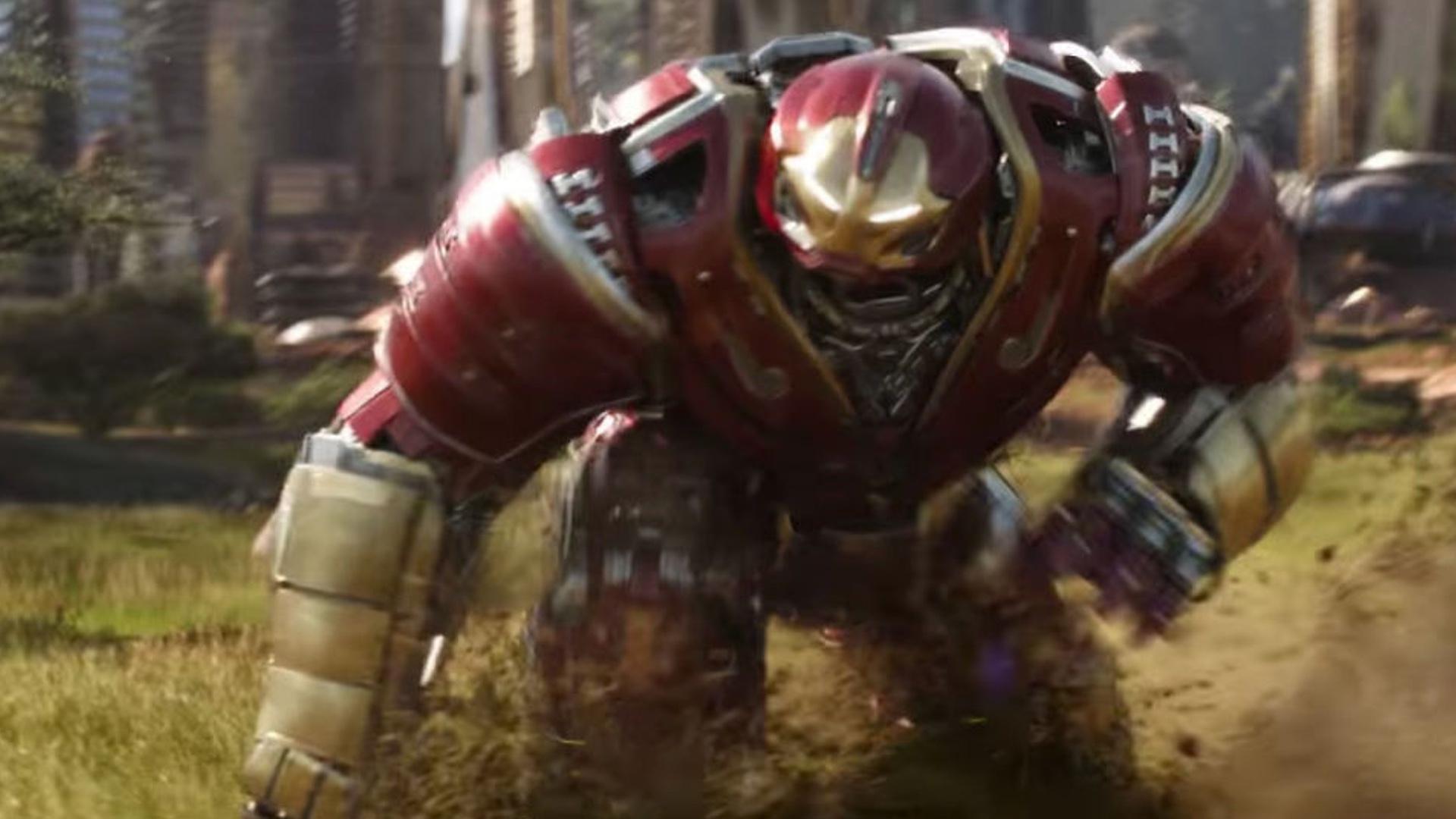 Hulk in Hulkbuster Armor