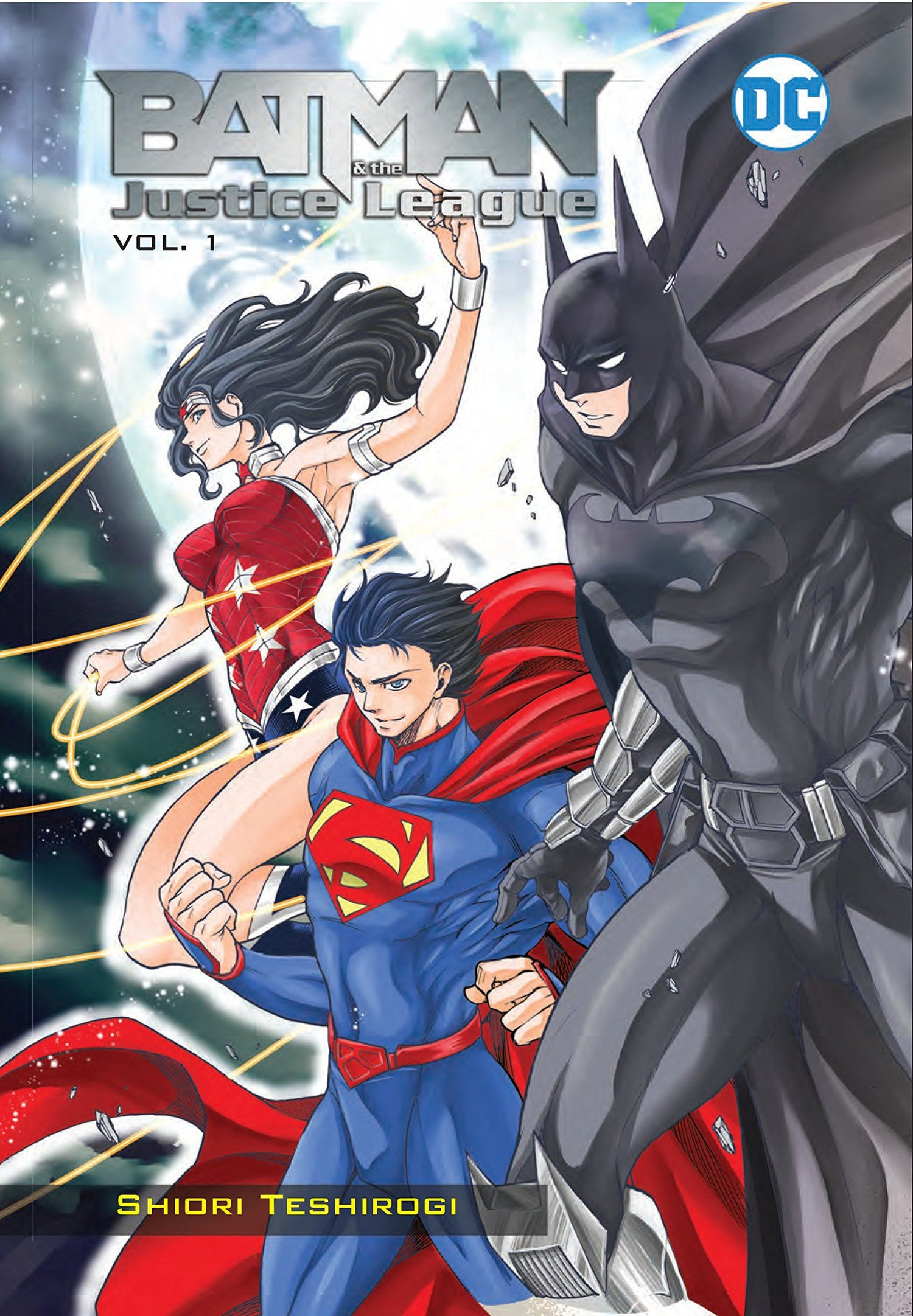 The BATMAN AND THE JUSTICE LEAGUE Manga is Coming The U S