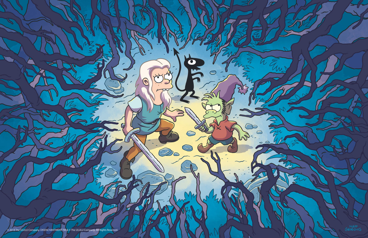 first-look-at-matt-groenings-animated-fantasy-netflix-series-disenchantment1
