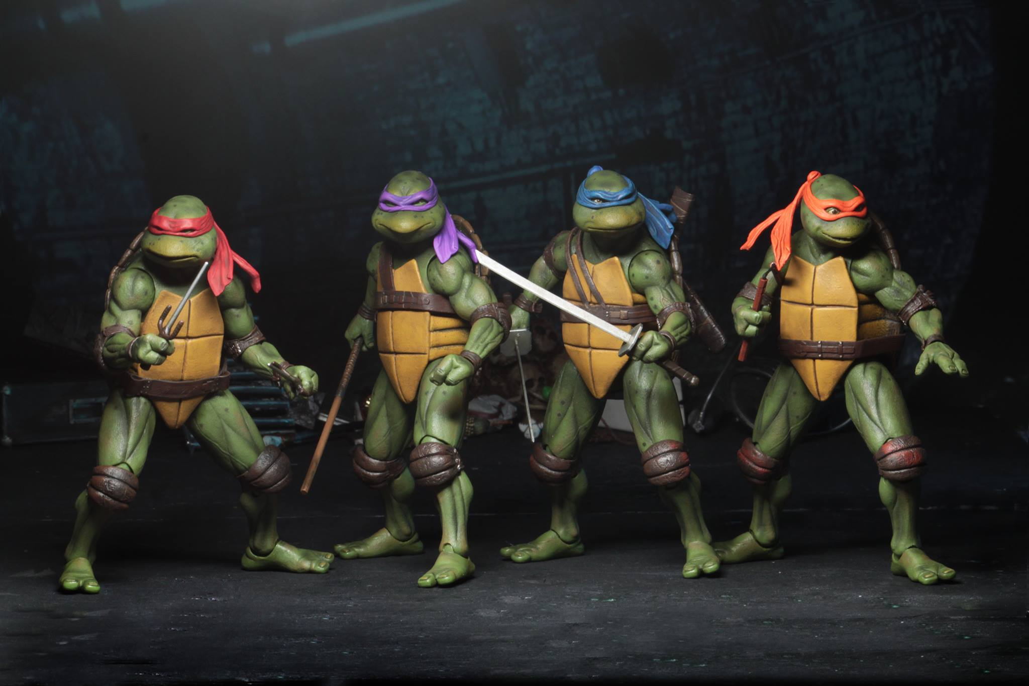 Neca Unveils An Awesome Line Of Teenage Mutant Ninja Turtles 1990