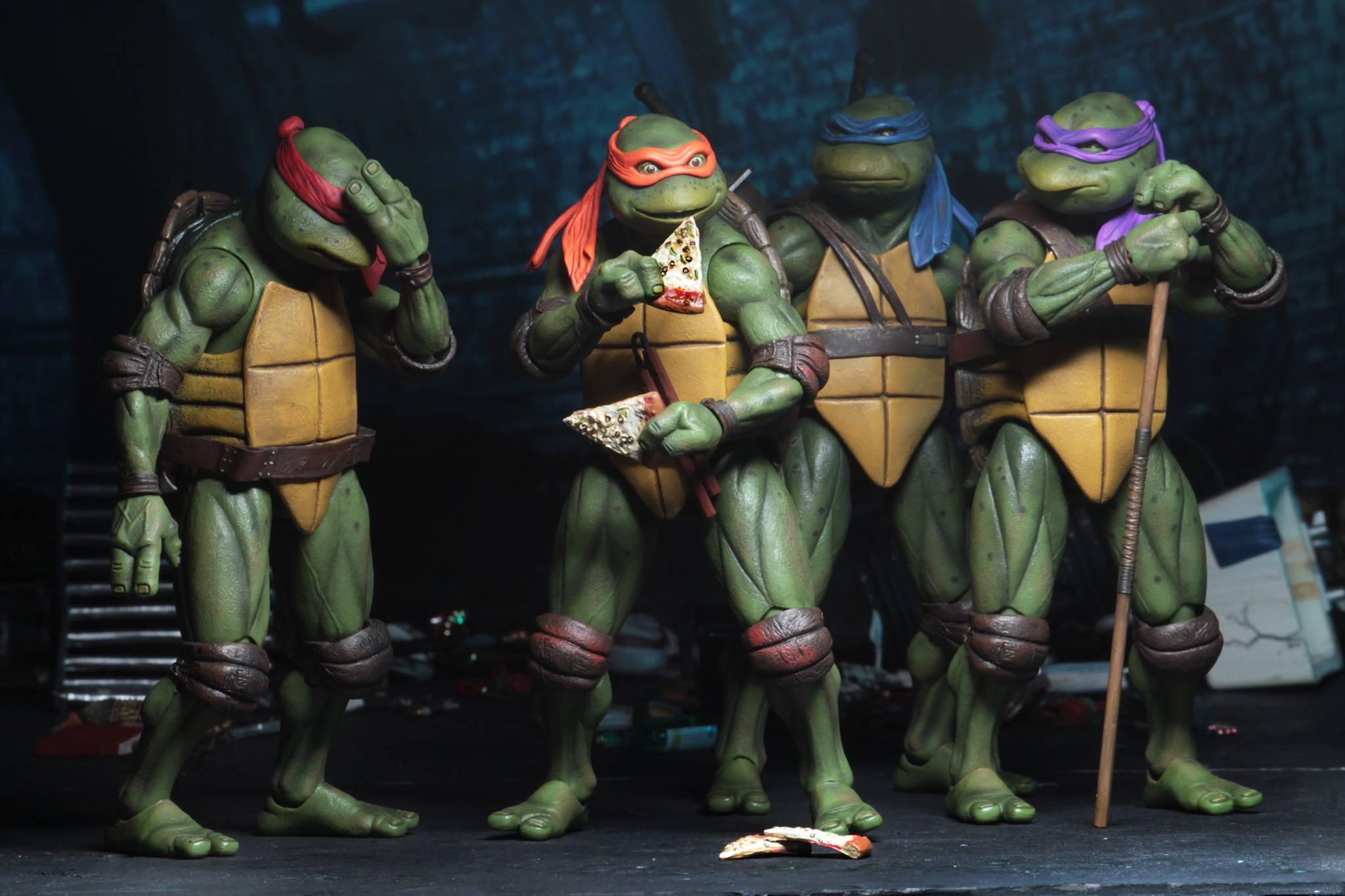 Neca Unveils An Awesome Line Of Teenage Mutant Ninja Turtles 1990 Movie Action Figures Geektyrant
