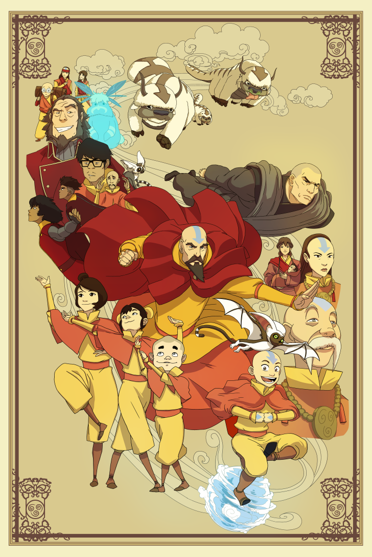 these-four-fan-posters-for-avatar-the-last-airbender-have-mastered-the-elements1.png