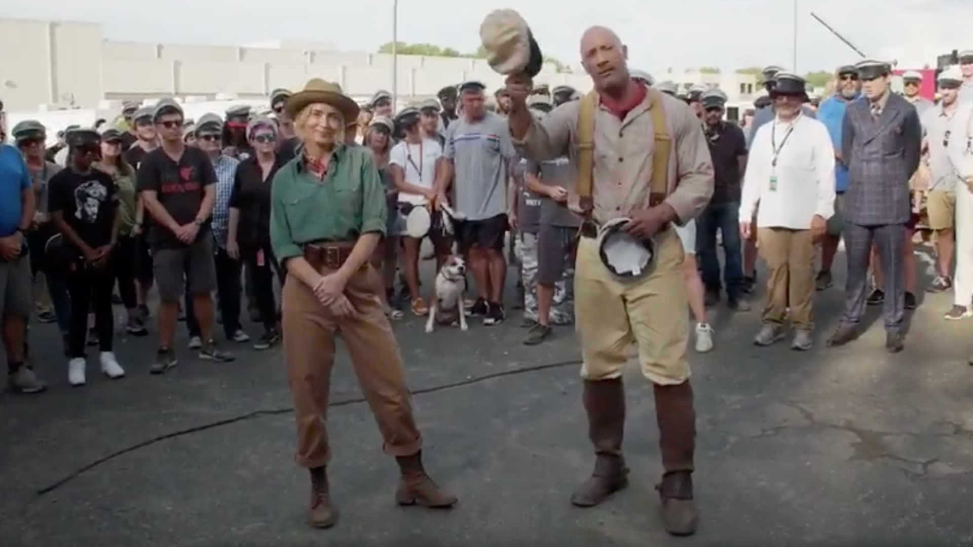 Disney S Jungle Cruise Has Wrapped Production And Here S A Video Featuring Dwayne Johnson And Emily Blunt Geektyrant