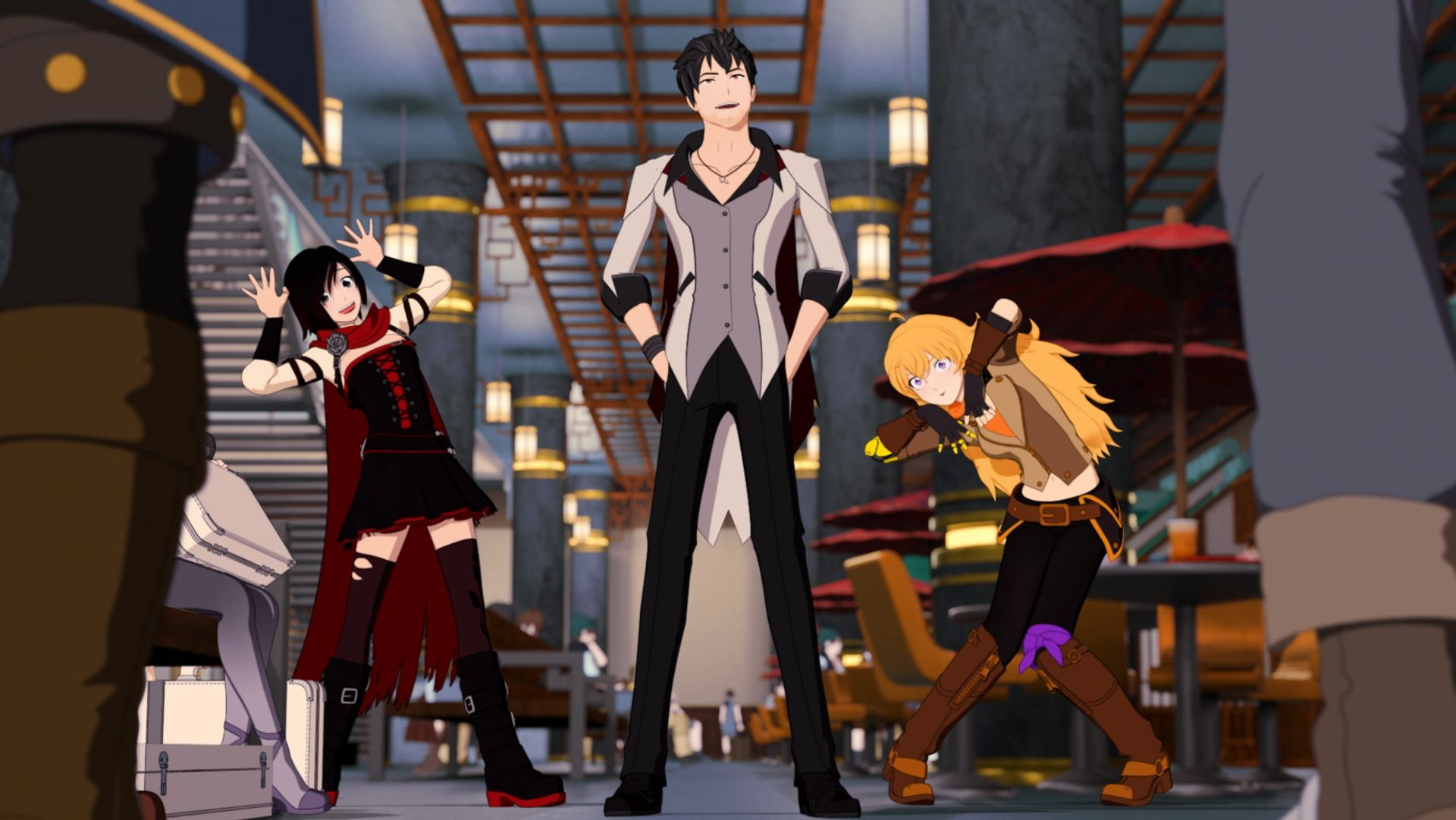 Check Out This Fun Clip For Rwby Volume 6 Who Needs Bodyguards Geektyrant Share rwby volume 6 to your friends! fun clip for rwby volume 6