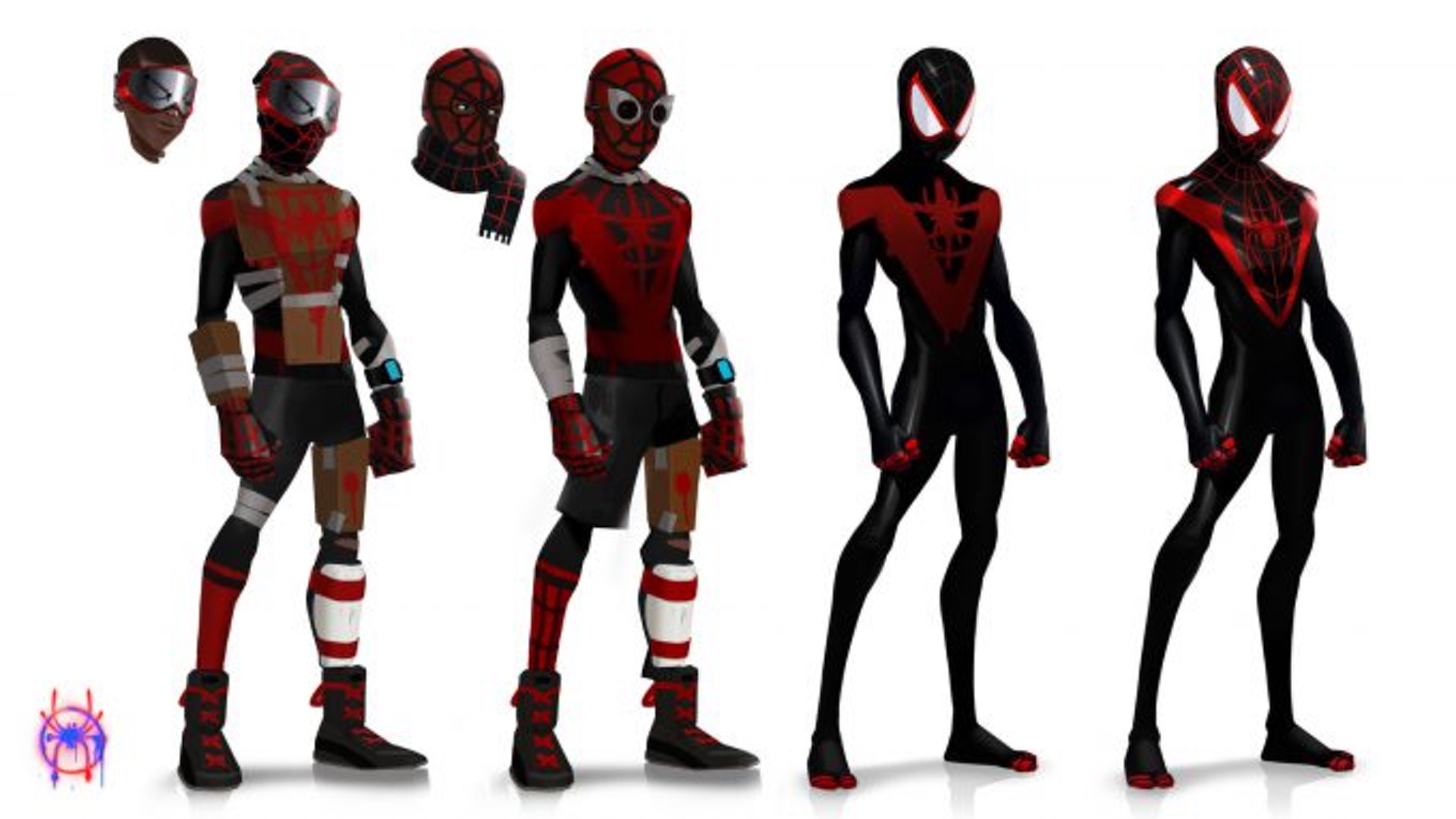 Spider Man Into The Spider Verse Concept Art Shows Cool