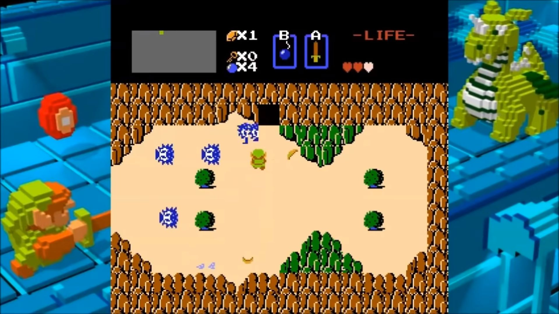 There Is A Minus World In The Legend Of Zelda Geektyrant