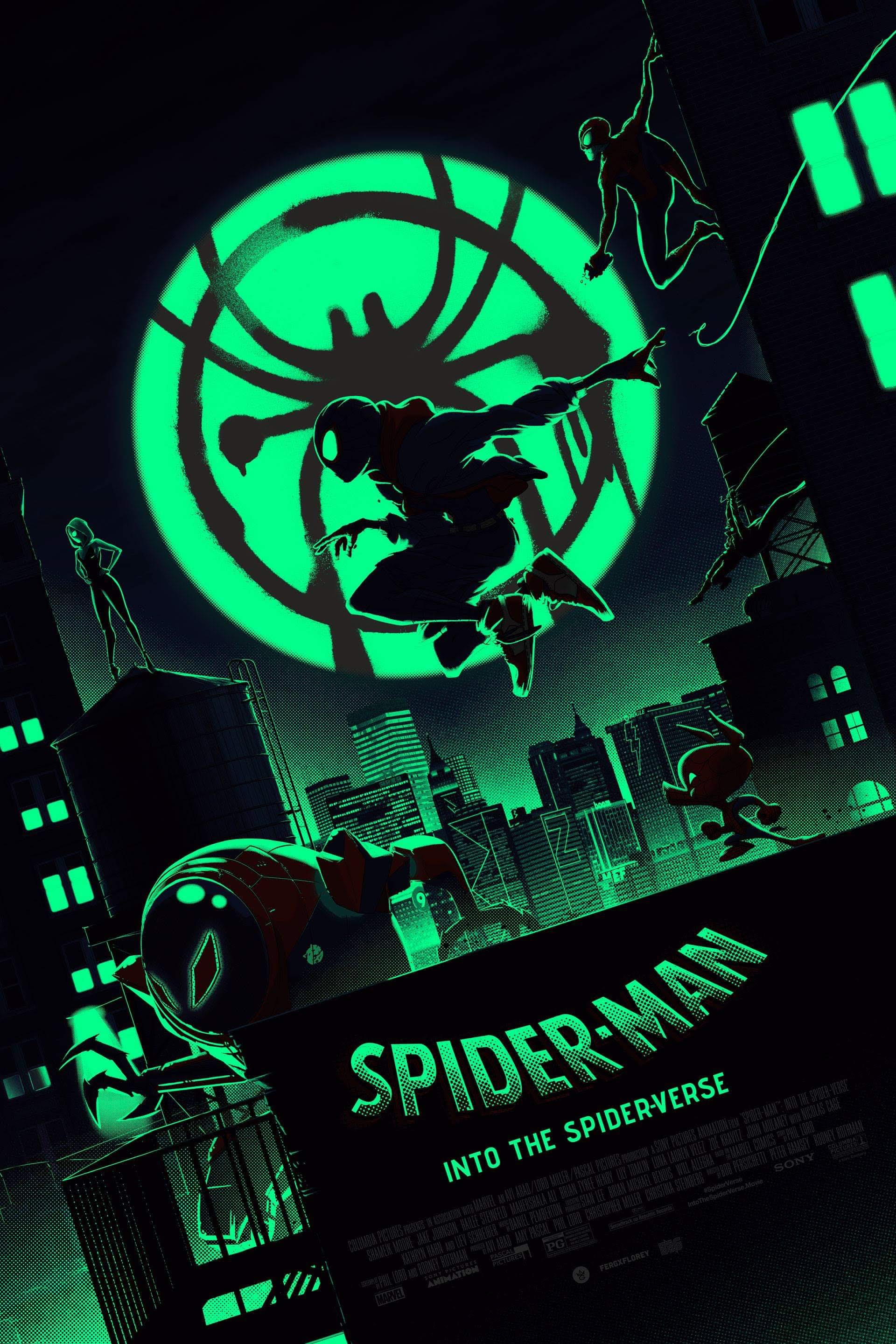this-cool-spider-man-into-the-spider-verse-poster-art-from-matt-ferguson-glows-in-the-dark4