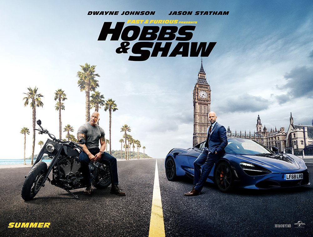 Super Fun and Action-Packed First Trailer For FAST & FURIOUS PRESENTS: HOBBS & SHAW