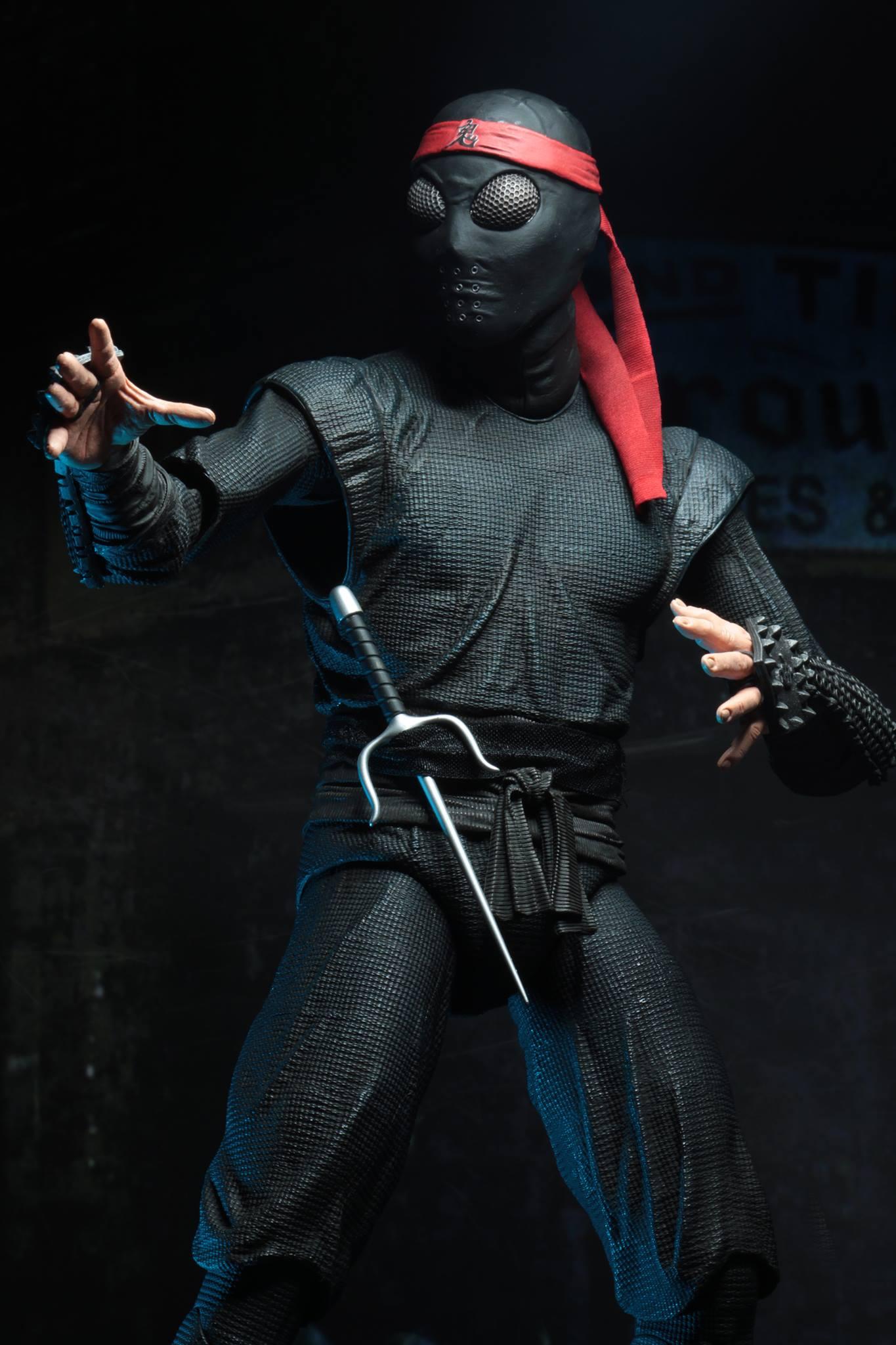 Teenage Mutant Ninja Turtles 1 4 Scale Action Figure Neca Foot Clan Soldier Film Tv Videospiele