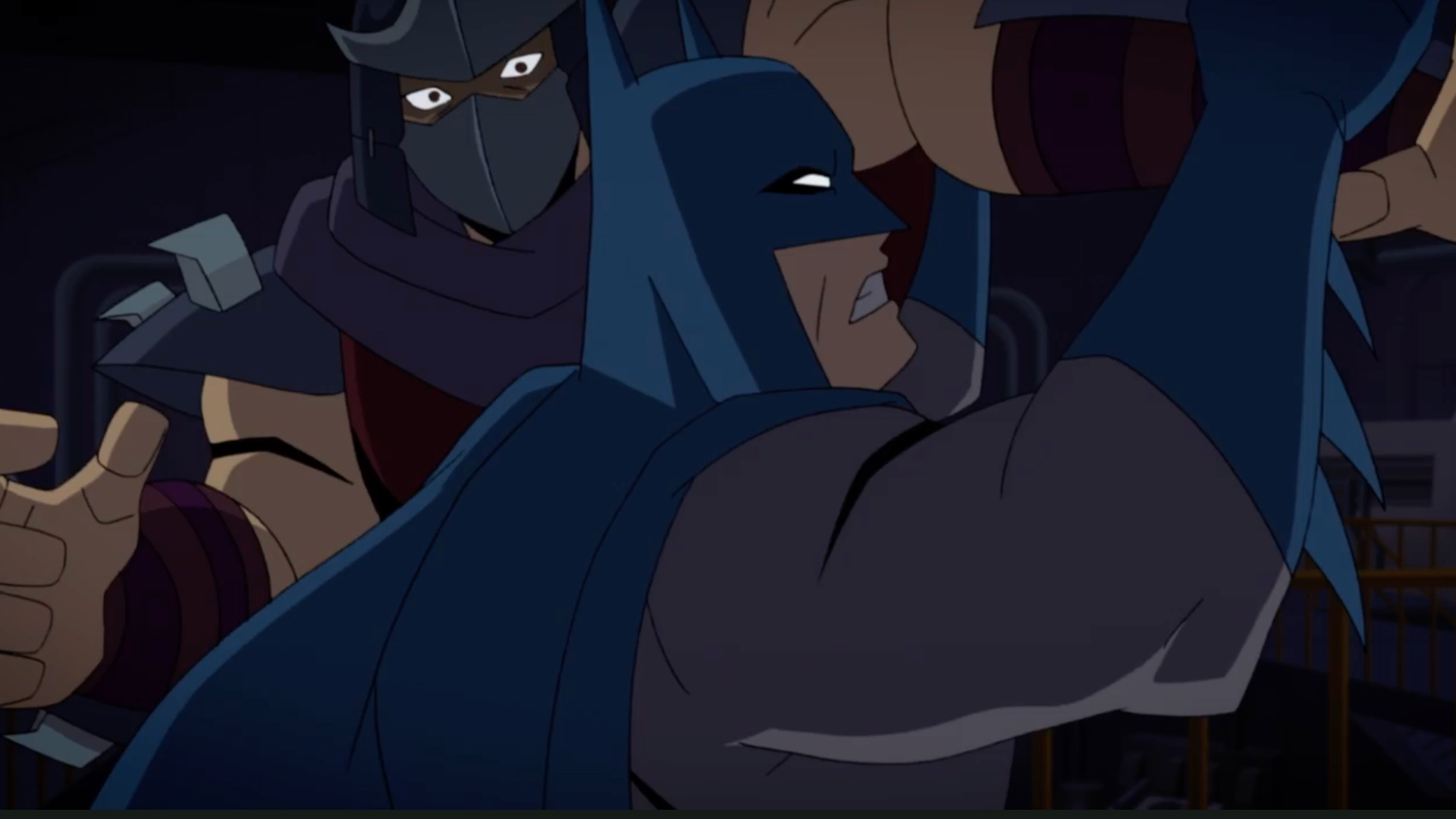 Batman Fights Shredder In Dc S First Batman Vs Teenage Mutant