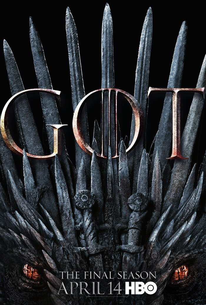 New Poster For Game Of Thrones Season 8 Features A Dragon Iron