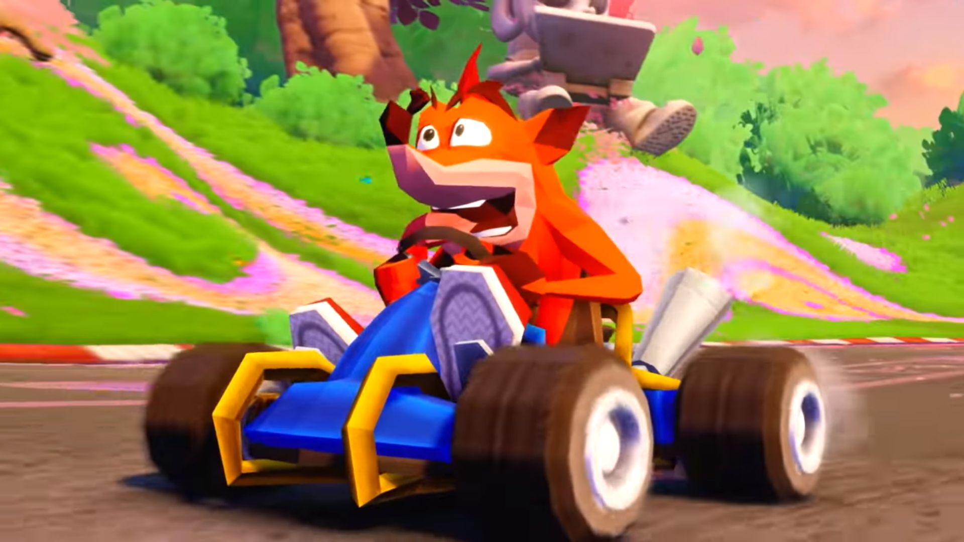 CRASH TEAM RACING NITRO-FUELED Will Include Content from CRASH NITRO
