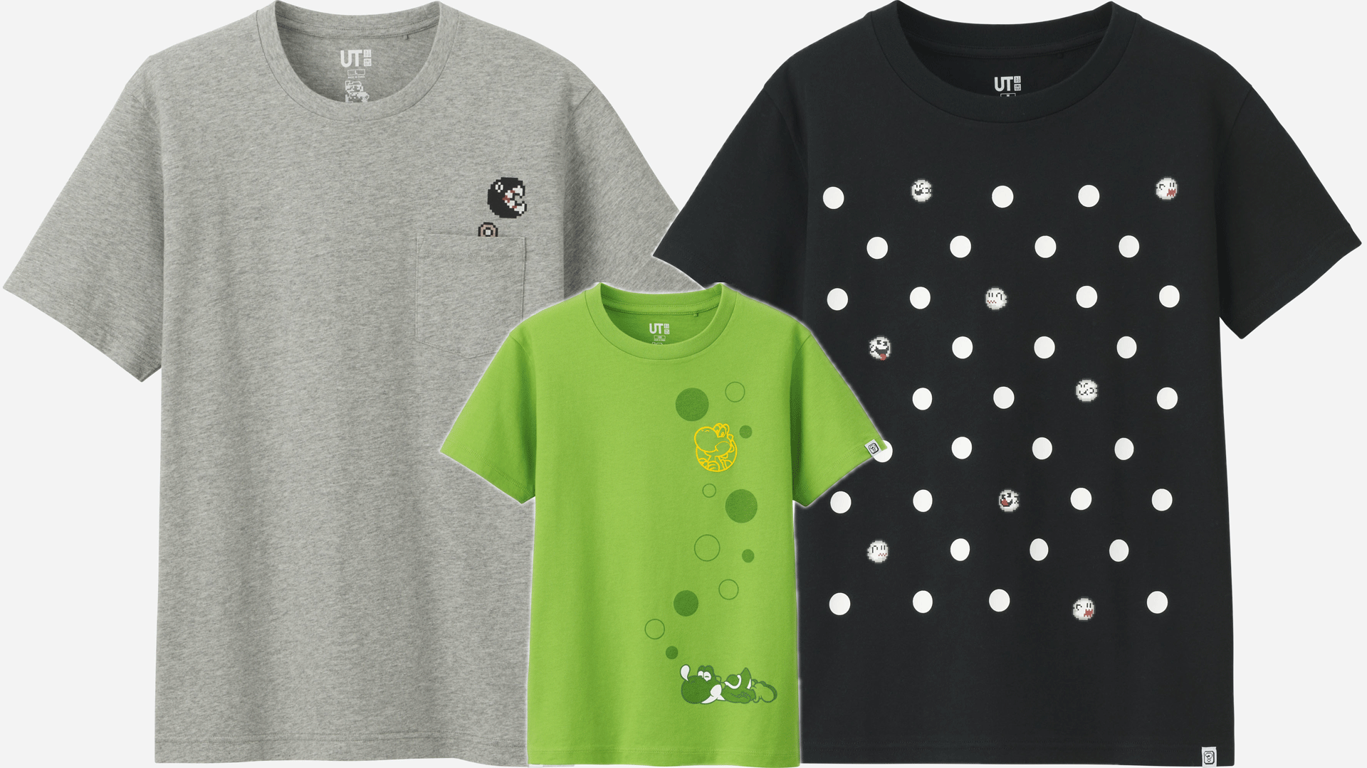 e5db37aec UT is the graphic T-shirt brand from UNIQLO and this spring they are adding  more shirts for kids, men, and women with graphics based on Super Mario  Bros. ...