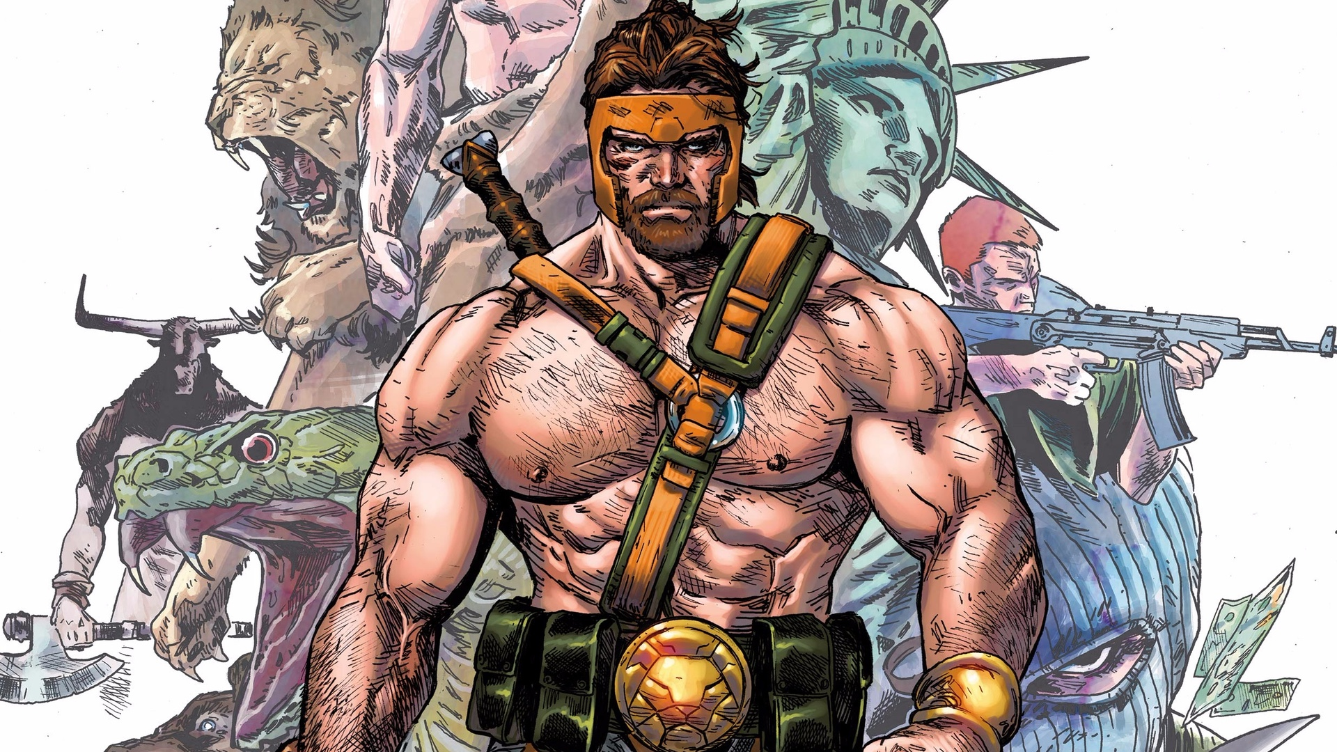 HERCULES Is Rumored to Be the Male Lead Role in Marvel's THE