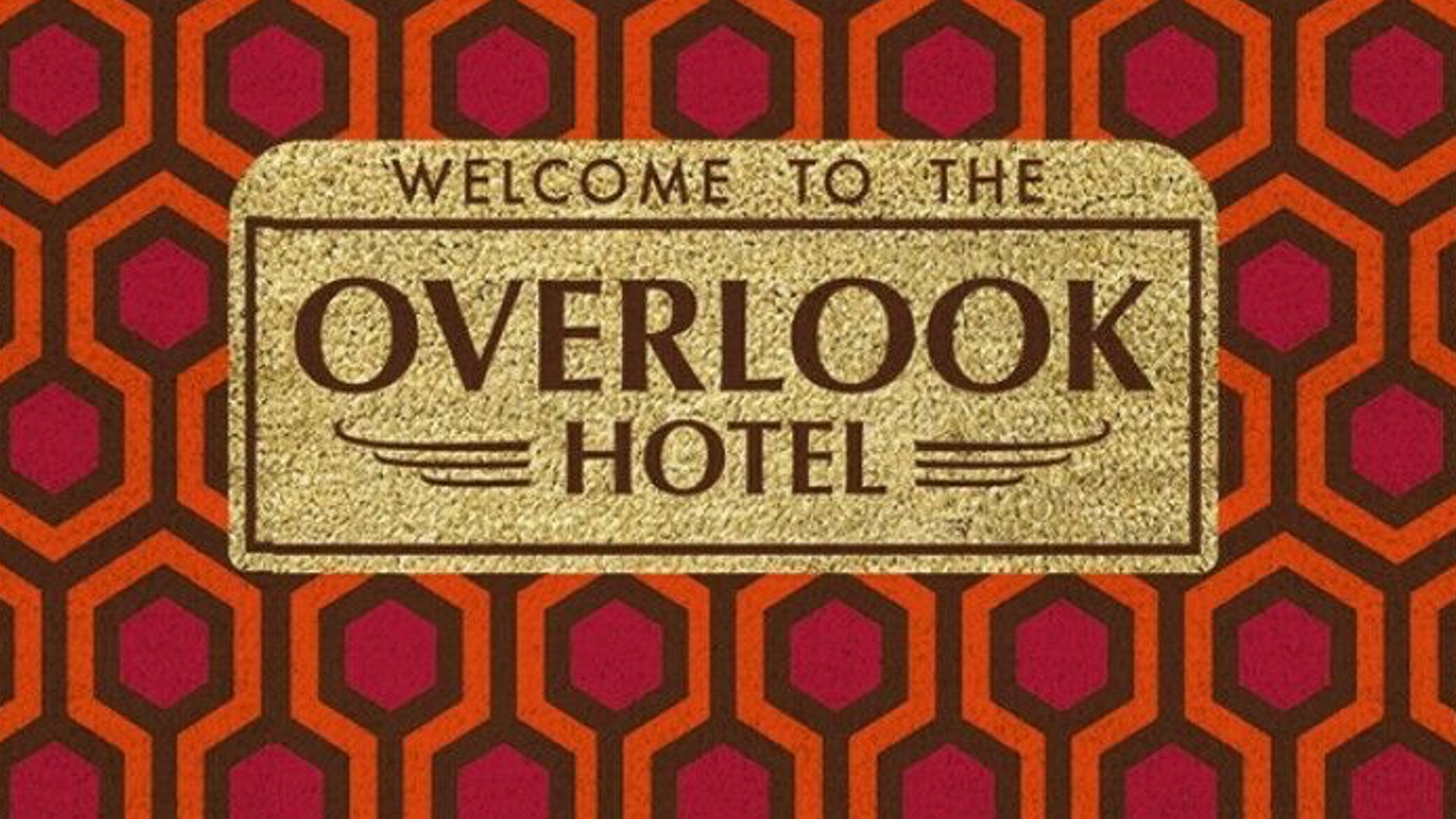 If You Re A Fan Of The Shining Then You Ll Want This Overlook Hotel Doormat Geektyrant