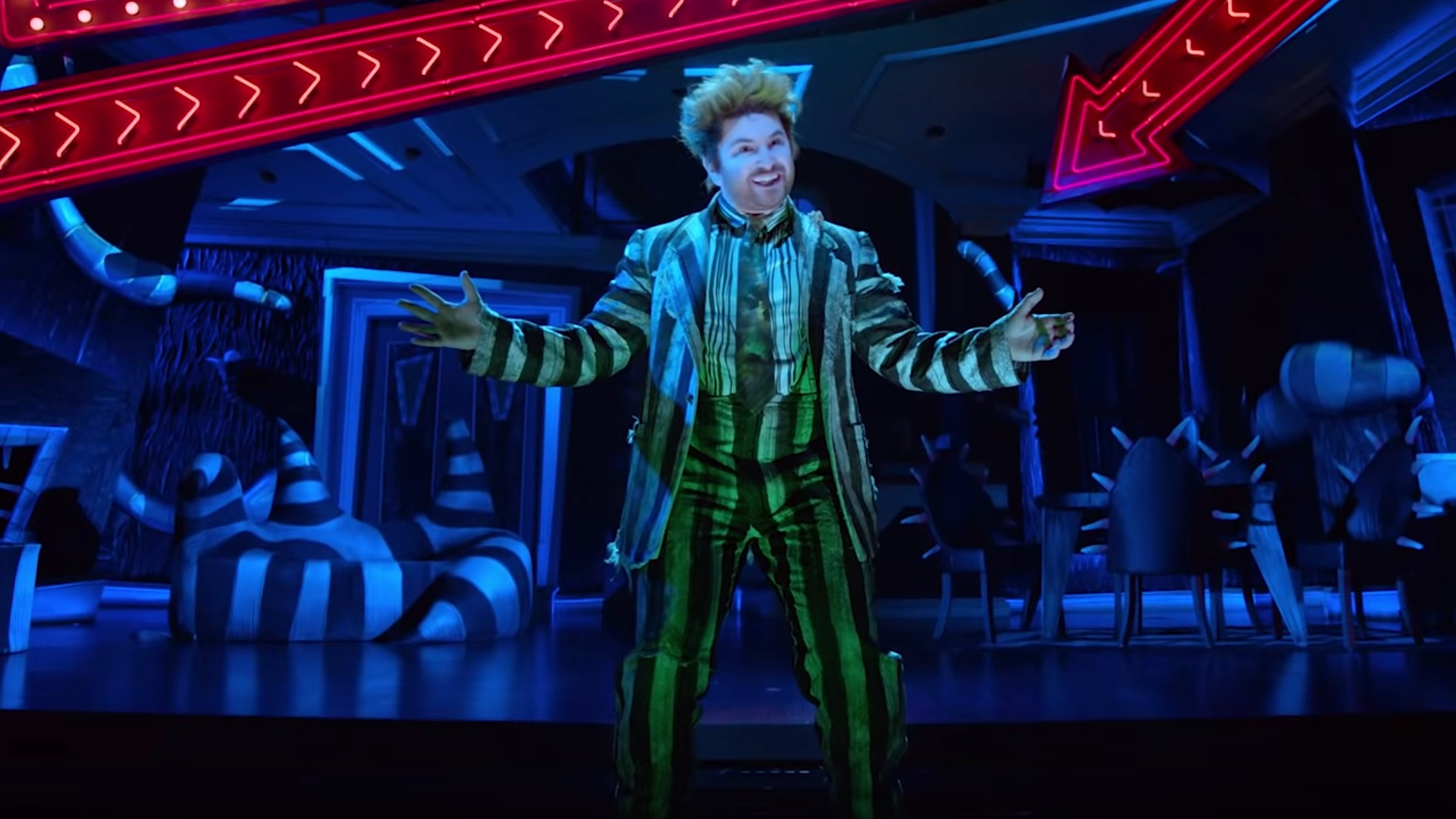 Trailer For The Beetlejuice Broadway Musical And Two Songs Released Geektyrant
