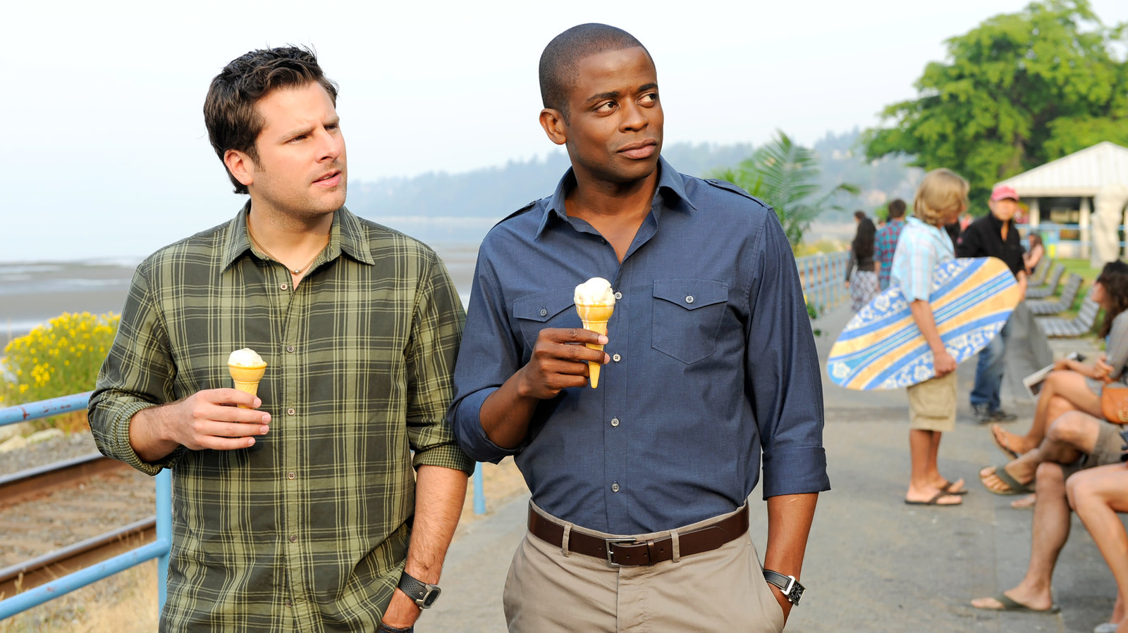Joel McHale Joins Psych: The Movie 2 With Jimmi Simpson Also Set to