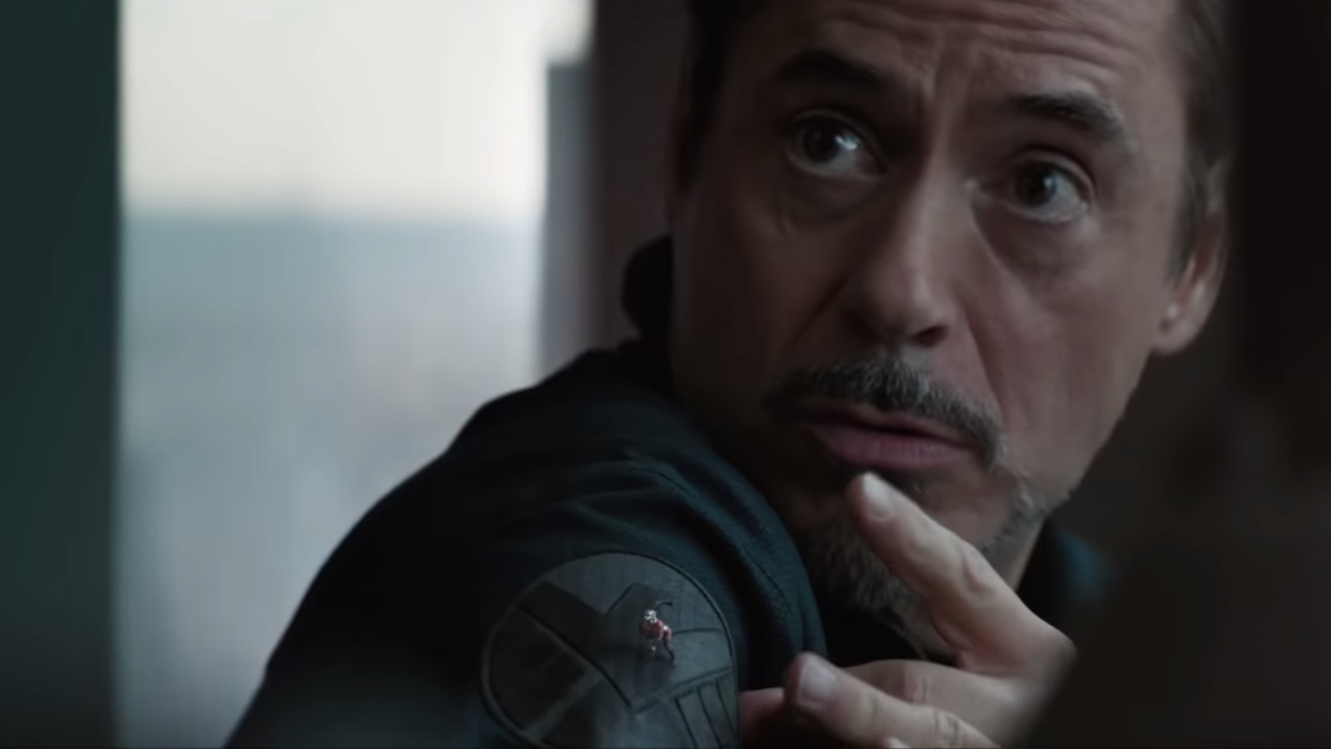 Tony Stark Making Use Of Paper Football Tactic