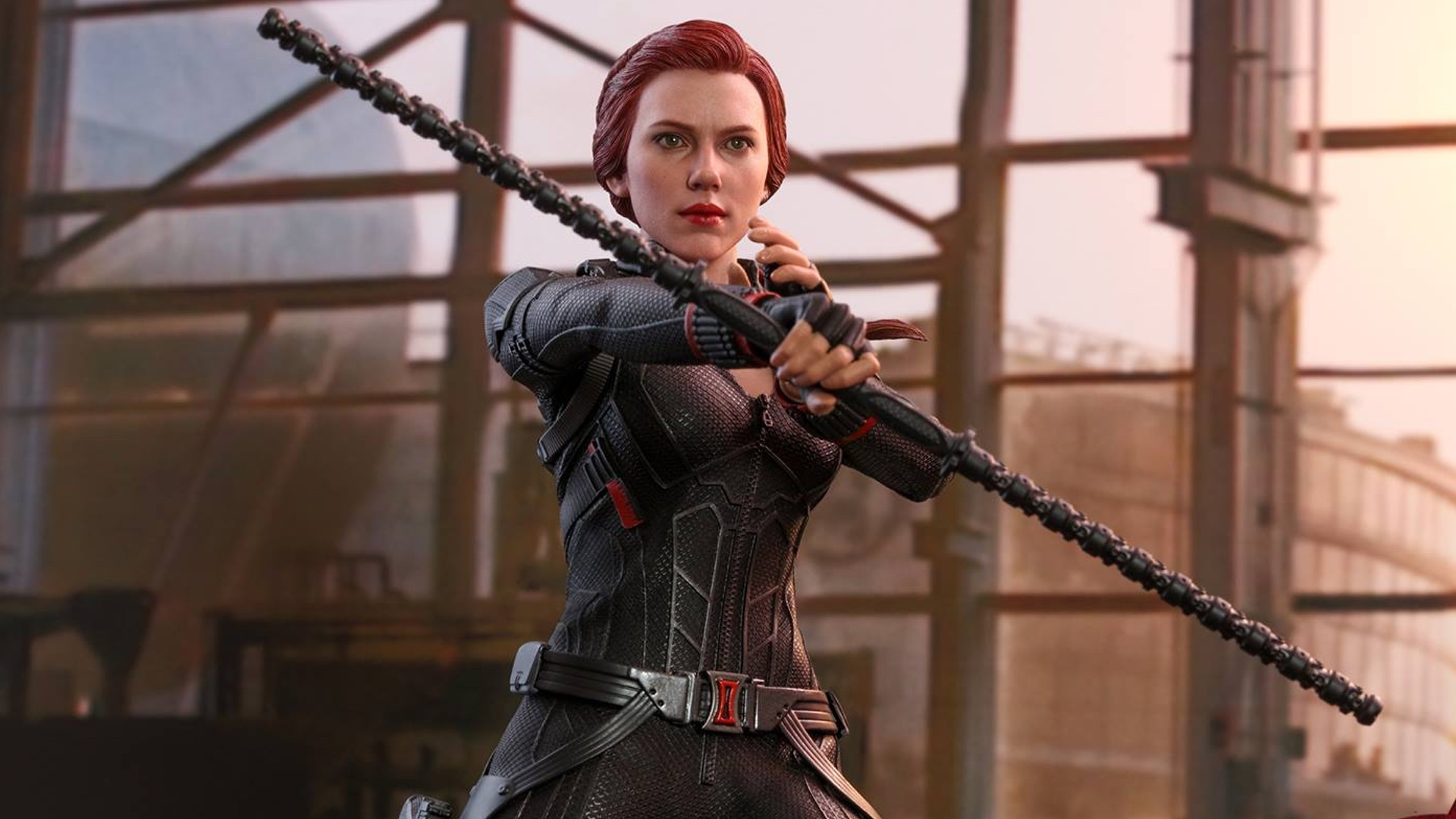 Hot Toys Reveals Their Avengers Endgame Black Widow Action Figure