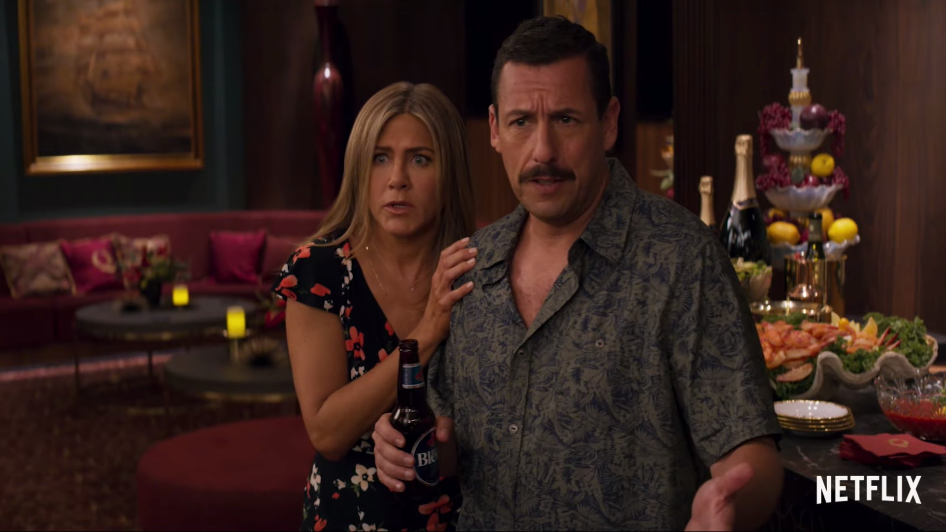 Trailer For Adam Sandler and Jennifer Aniston's New Netflix