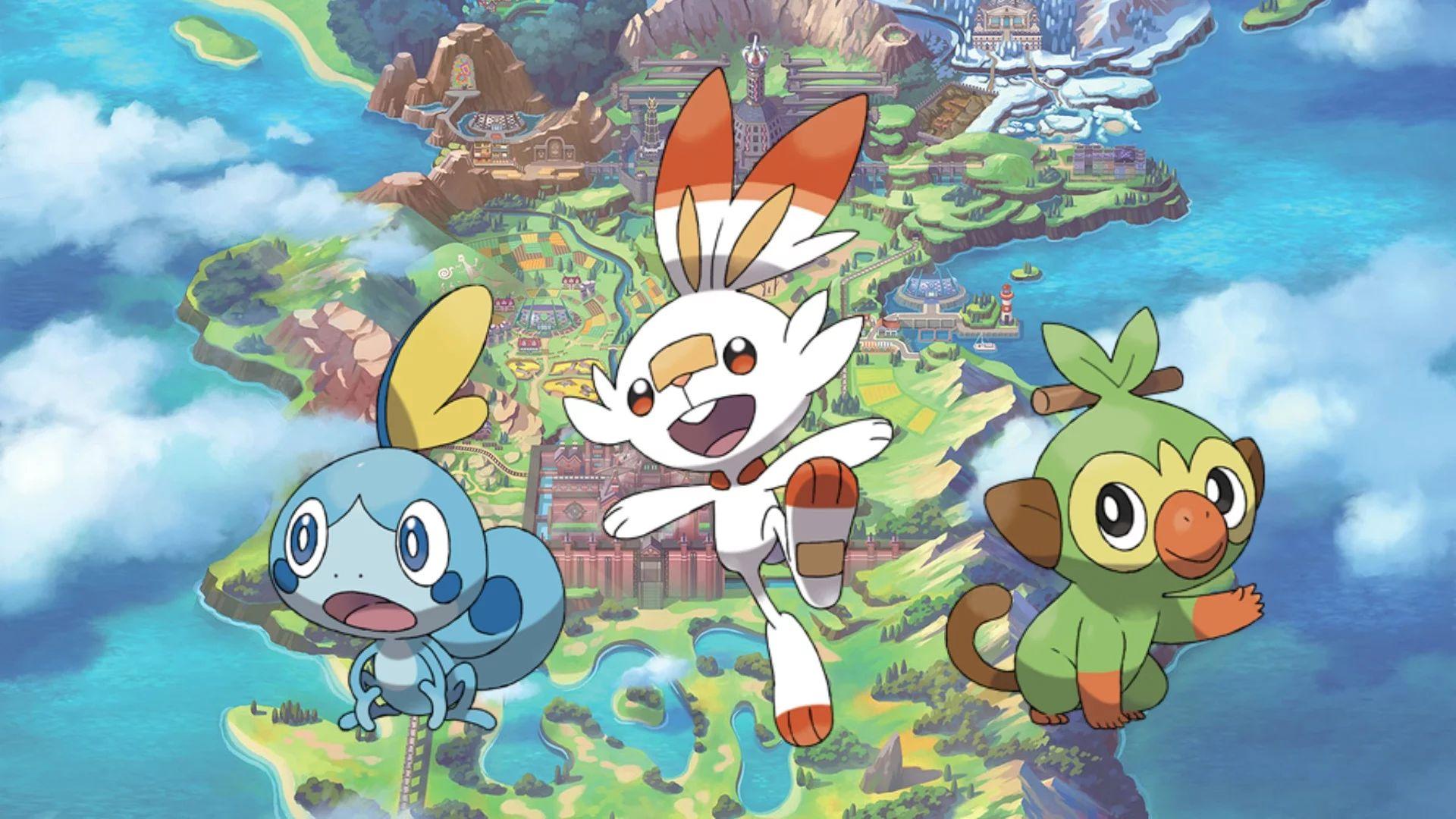 Pokemon Shield And Pokemon Sword Leak Talks About Starter Evolutions
