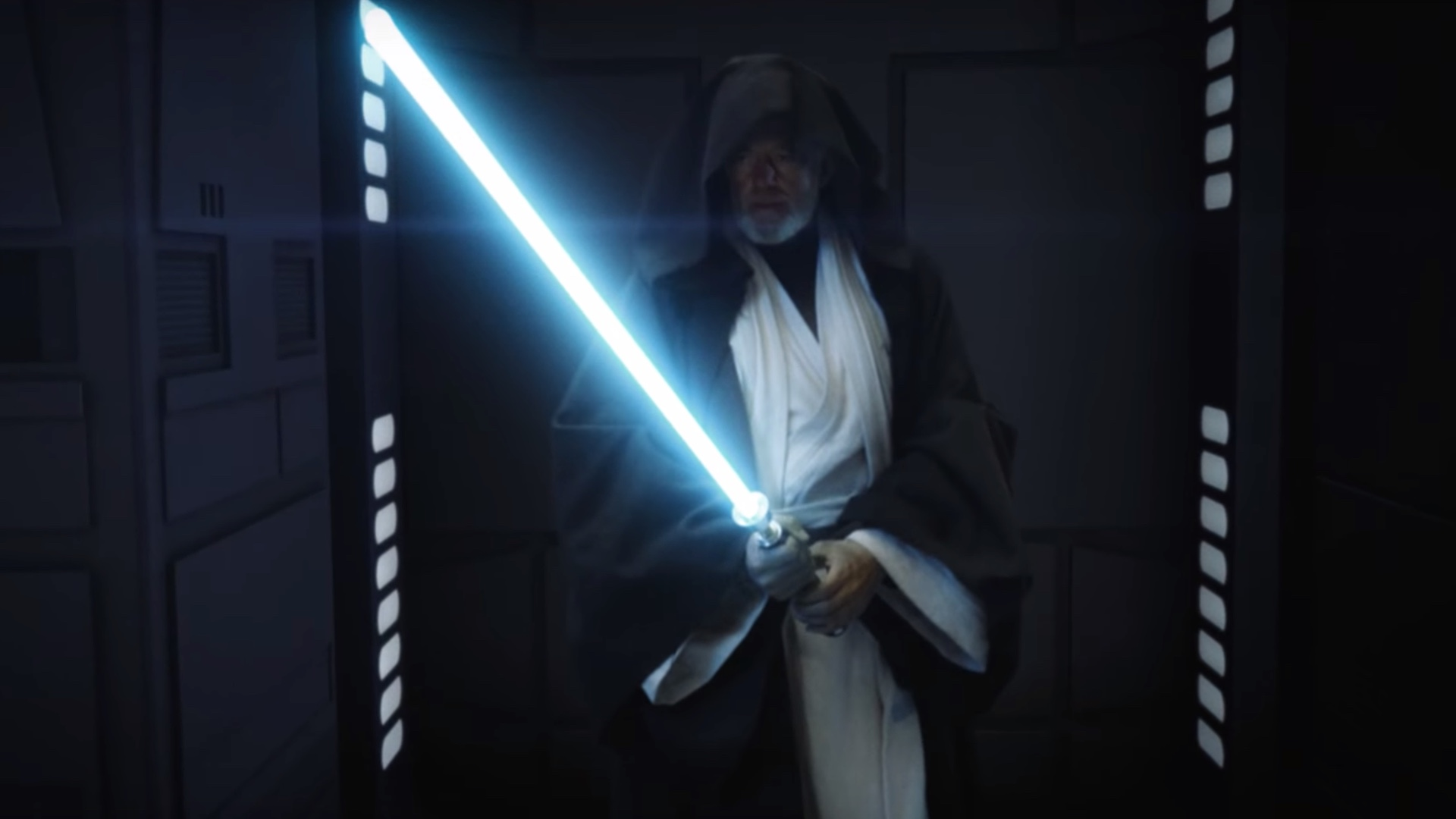Stunning Reimagining Of The Climactic Lightsaber Duel Between Darth Vader And Obi Wan Kenobi In A New Hope Geektyrant