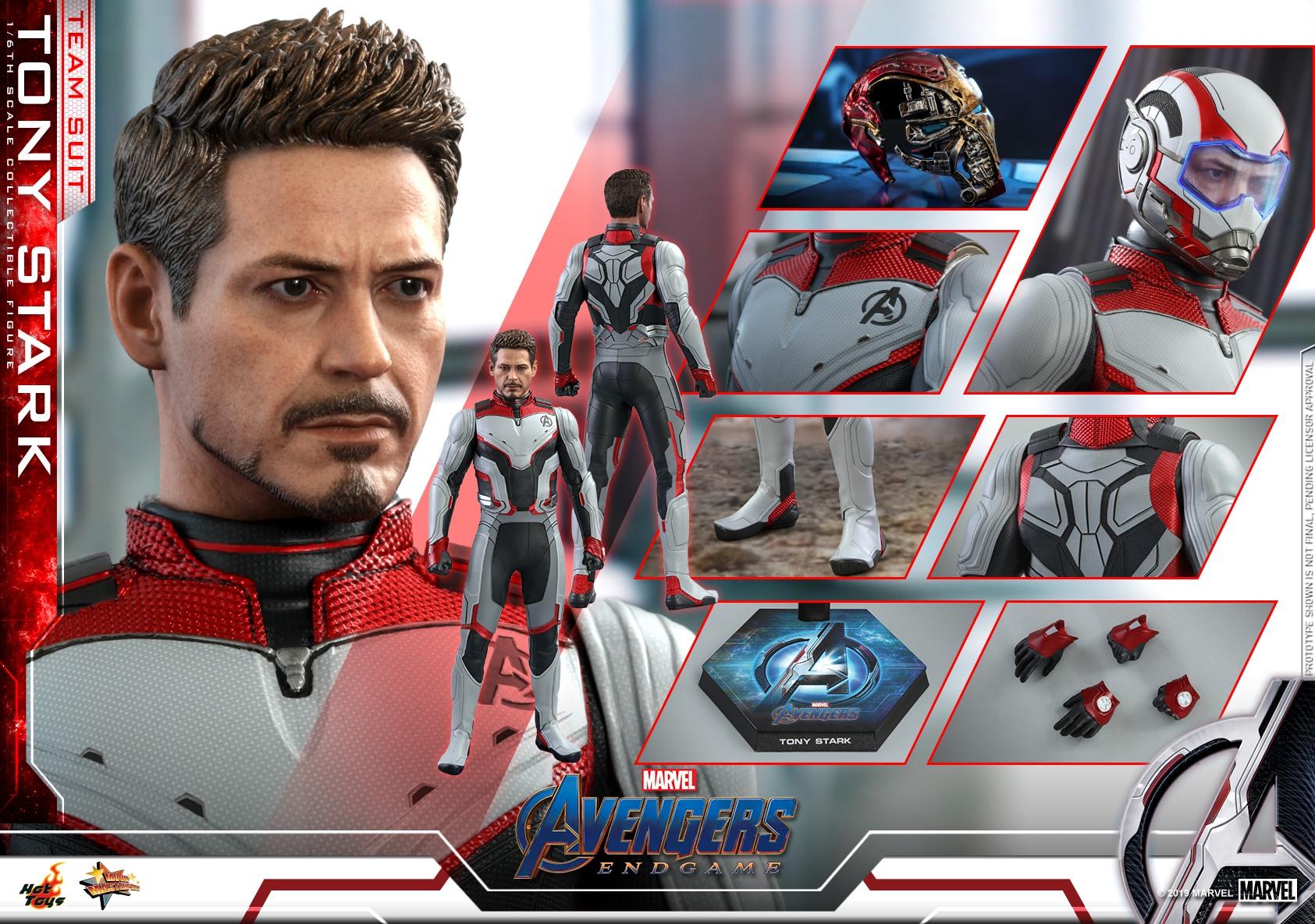 Hot Toys Shows Off Their AVENGERS: ENDGAME Tony Stark