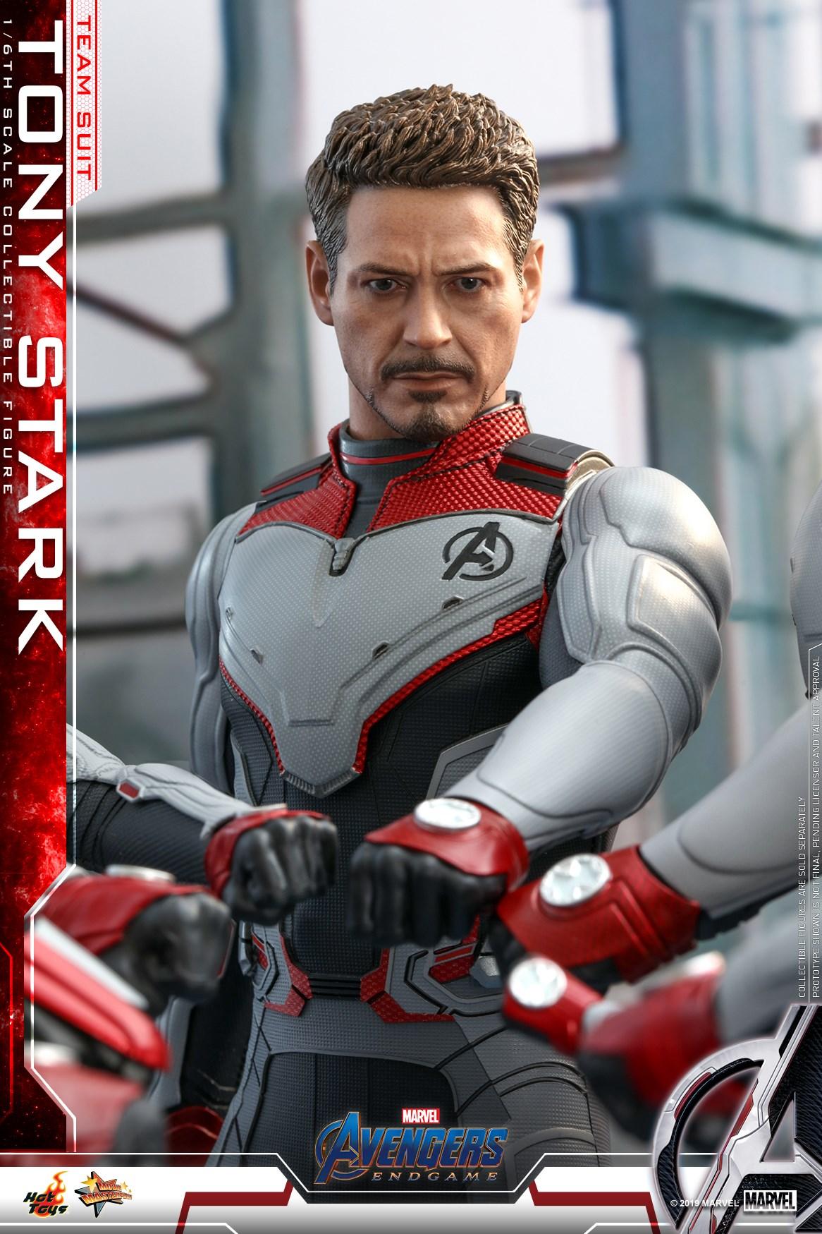 Hot Toys Shows Off Their AVENGERS: ENDGAME Tony Stark Quantum Realm