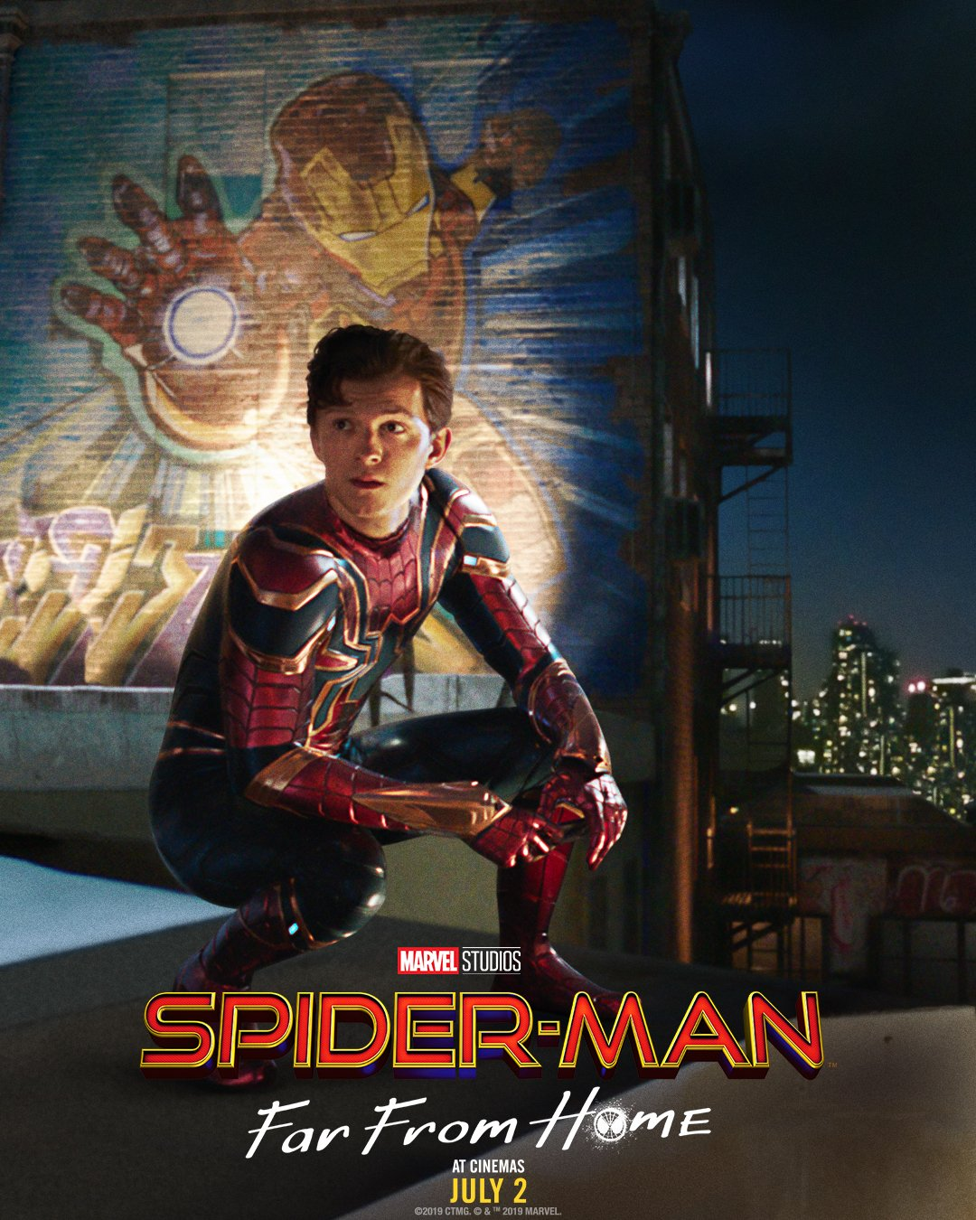 new-poster-for-spider-man-far-from-home-pays-homage-to-iron-mans-legacy1